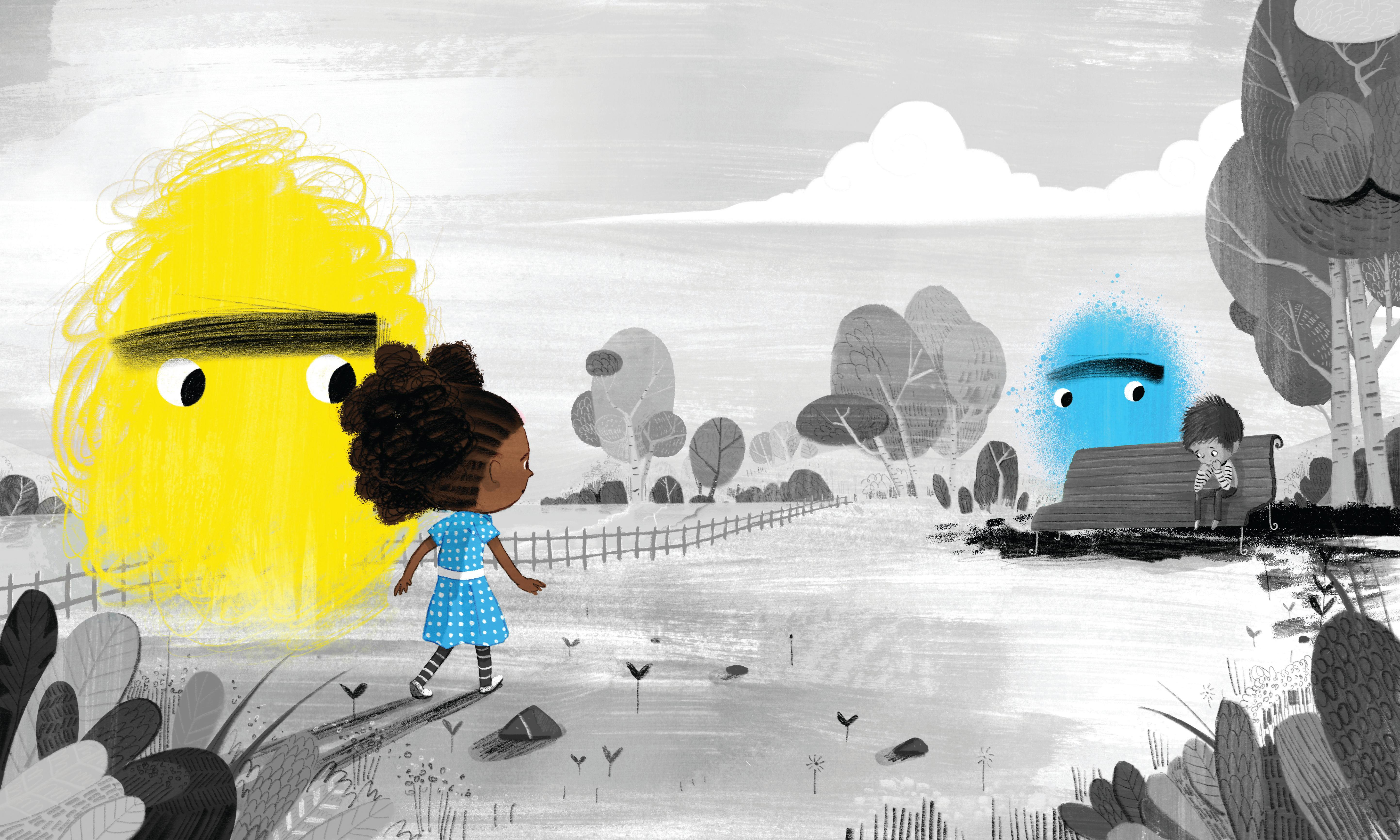 Can picture books meet the crisis in children's mental health?