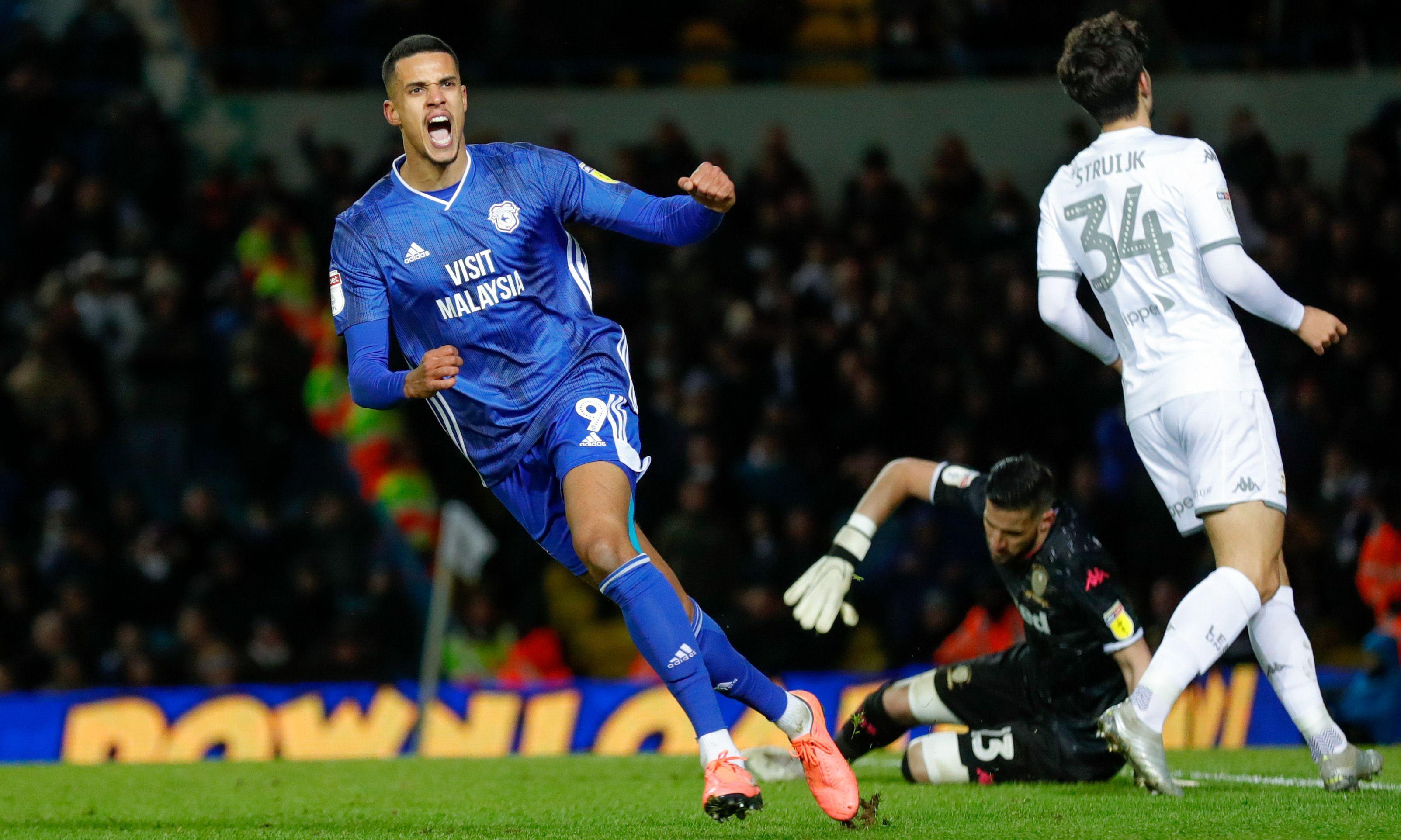 Cardiff stun Leeds as Robert Glatzel seals draw after being three down