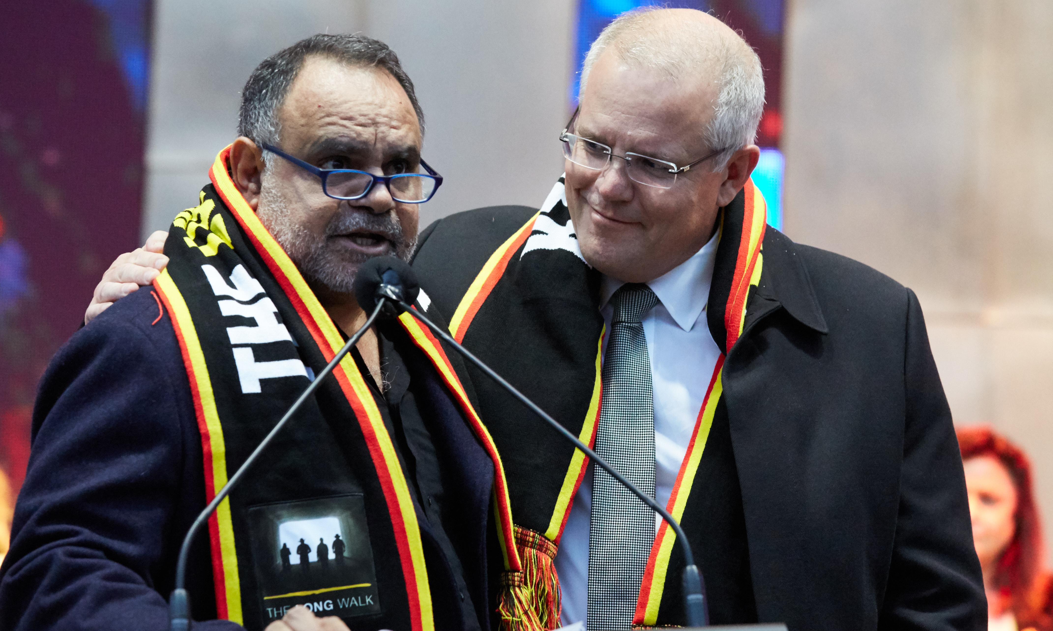 Indigenous AFL champ Michael Long urges PM to be 'a captain we can believe in'