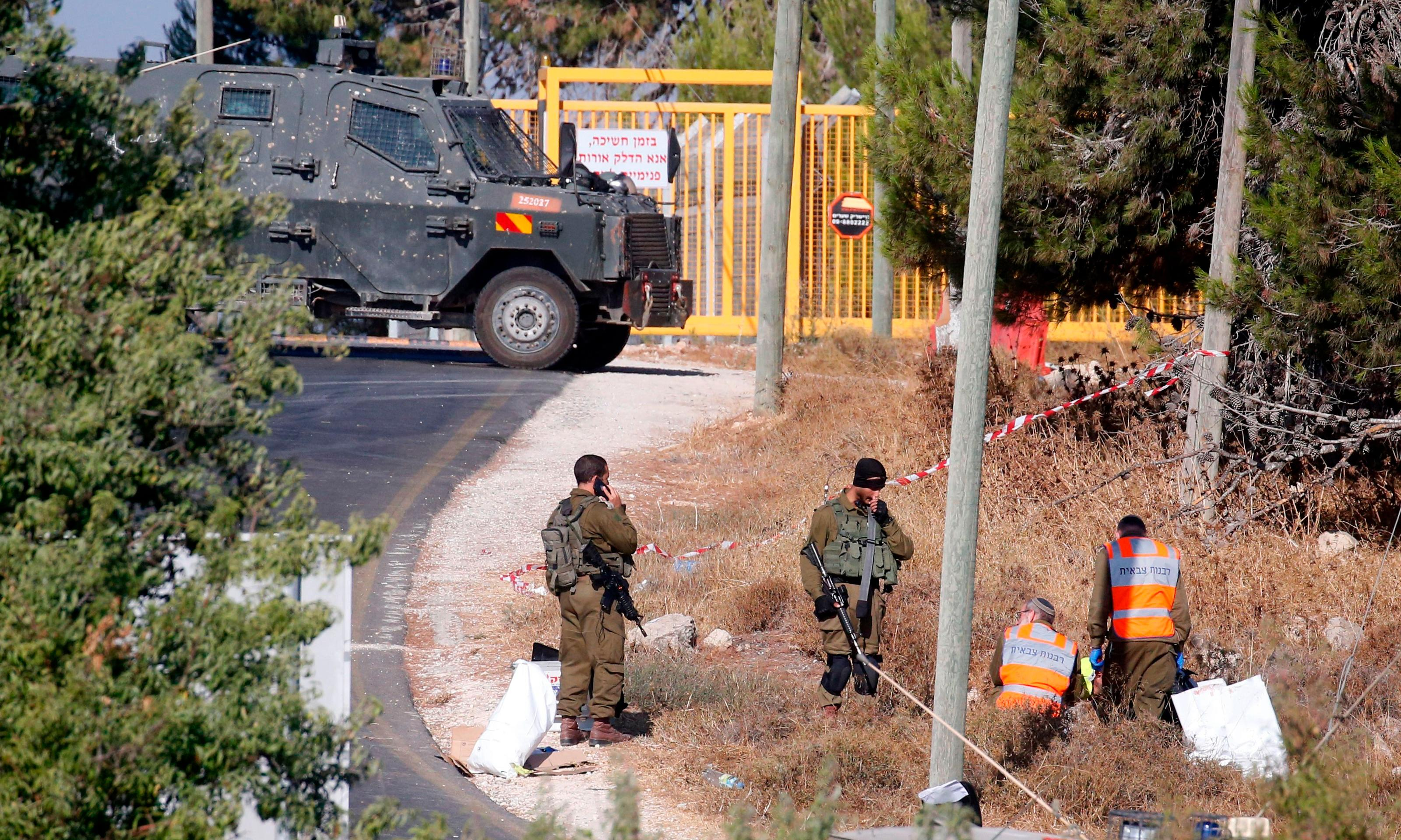 Manhunt after Israeli soldier stabbed to death in West Bank