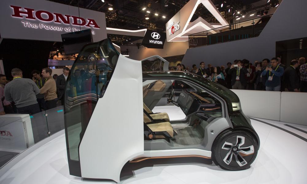 The Honda NeuV concept vehicle