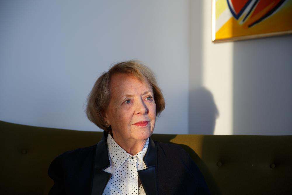 Vigdís Finnbogadóttir, former president of Iceland, in 2017. 'Women thought, if she can, I can.'