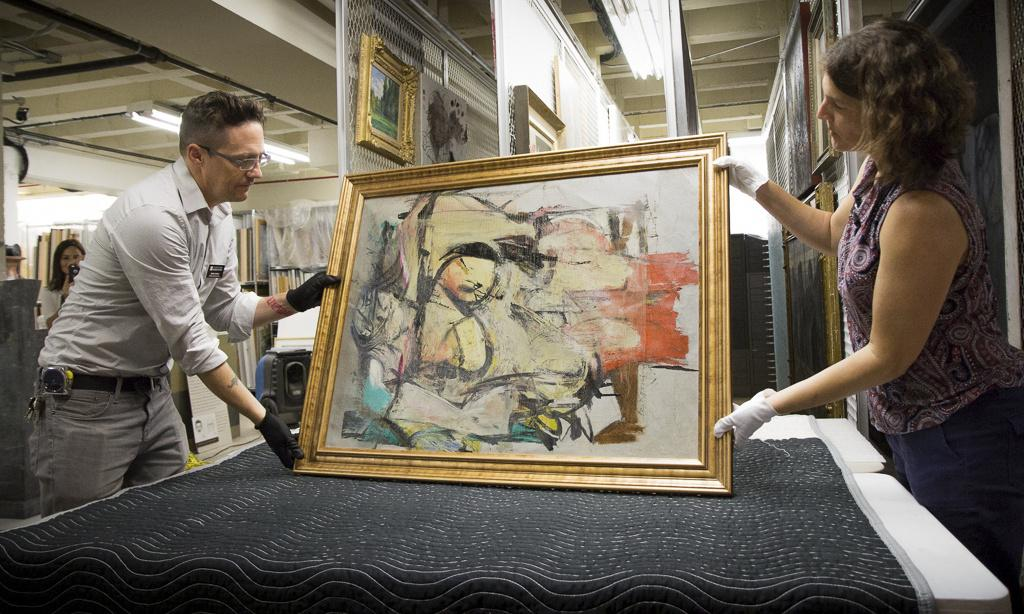 Arizona museum shows De Kooning painting lost to brazen thieves in 1985