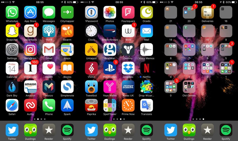 Life Hack How To Best Arrange Your Iphone Apps One Icon
