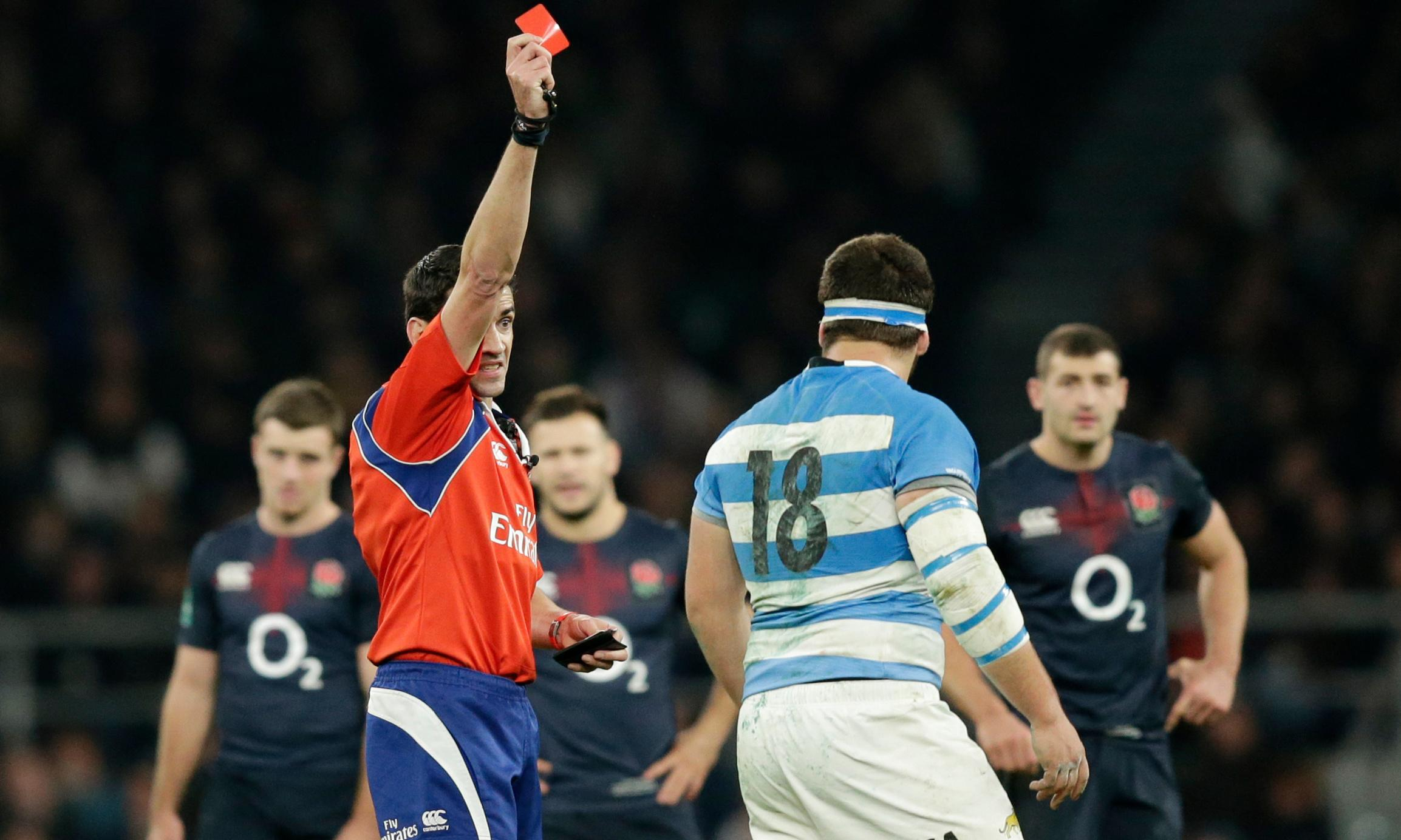 World Cup referees will not 'lay down a marker' with reds, says World Rugby