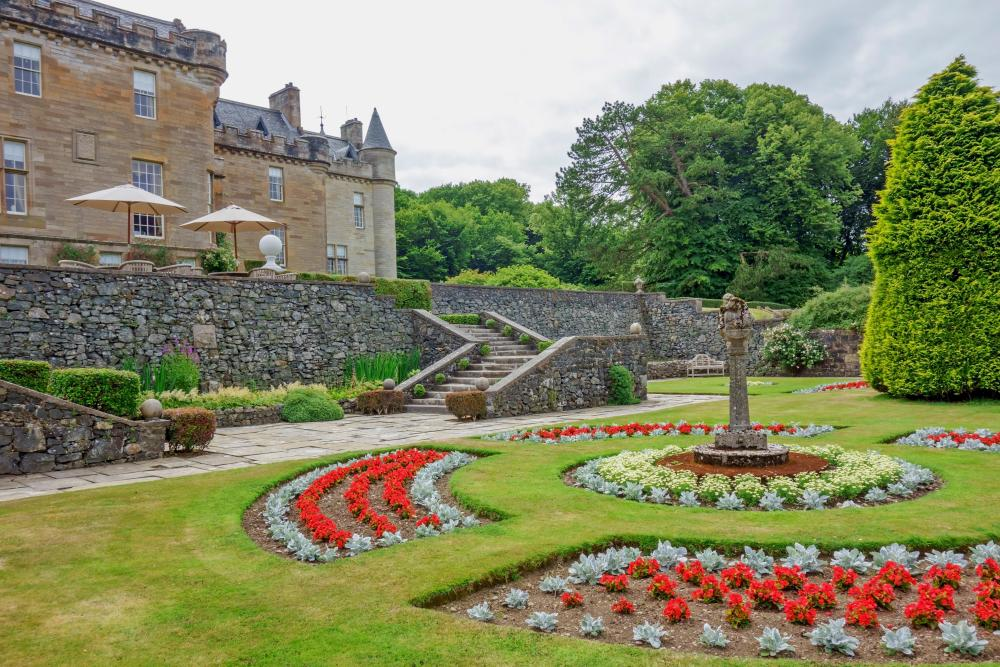 From formal to woodland: Glenapp Castle's gardens.