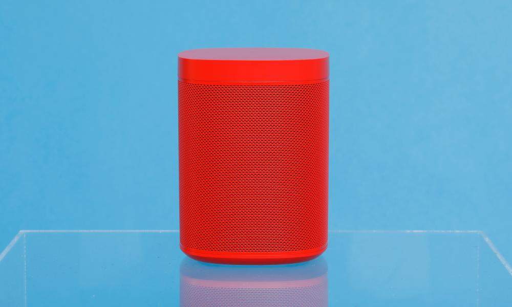 The Sonos One, Hay edition smartspeaker