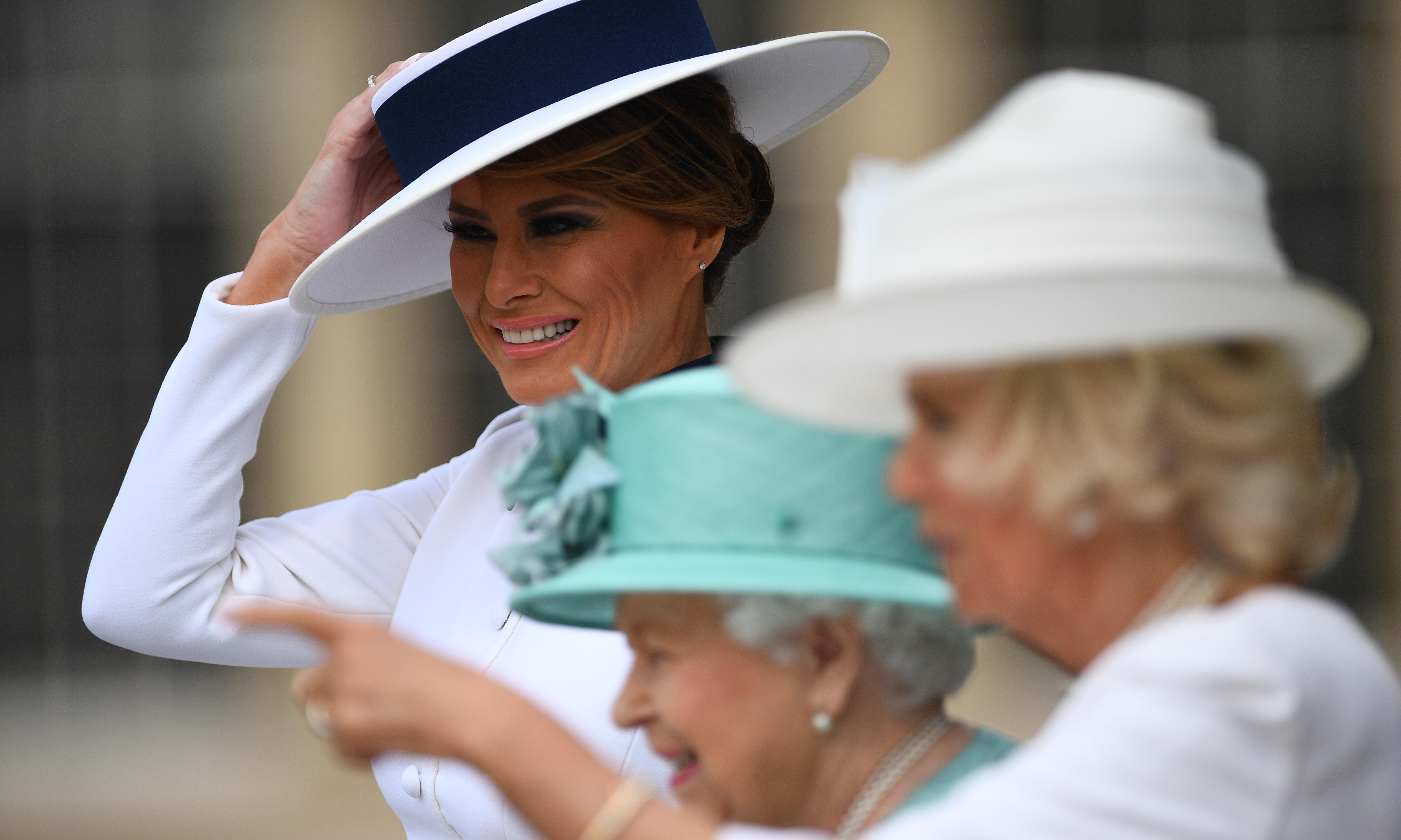 Unmistakably British: Melania Trump's outfits inspired by UK
