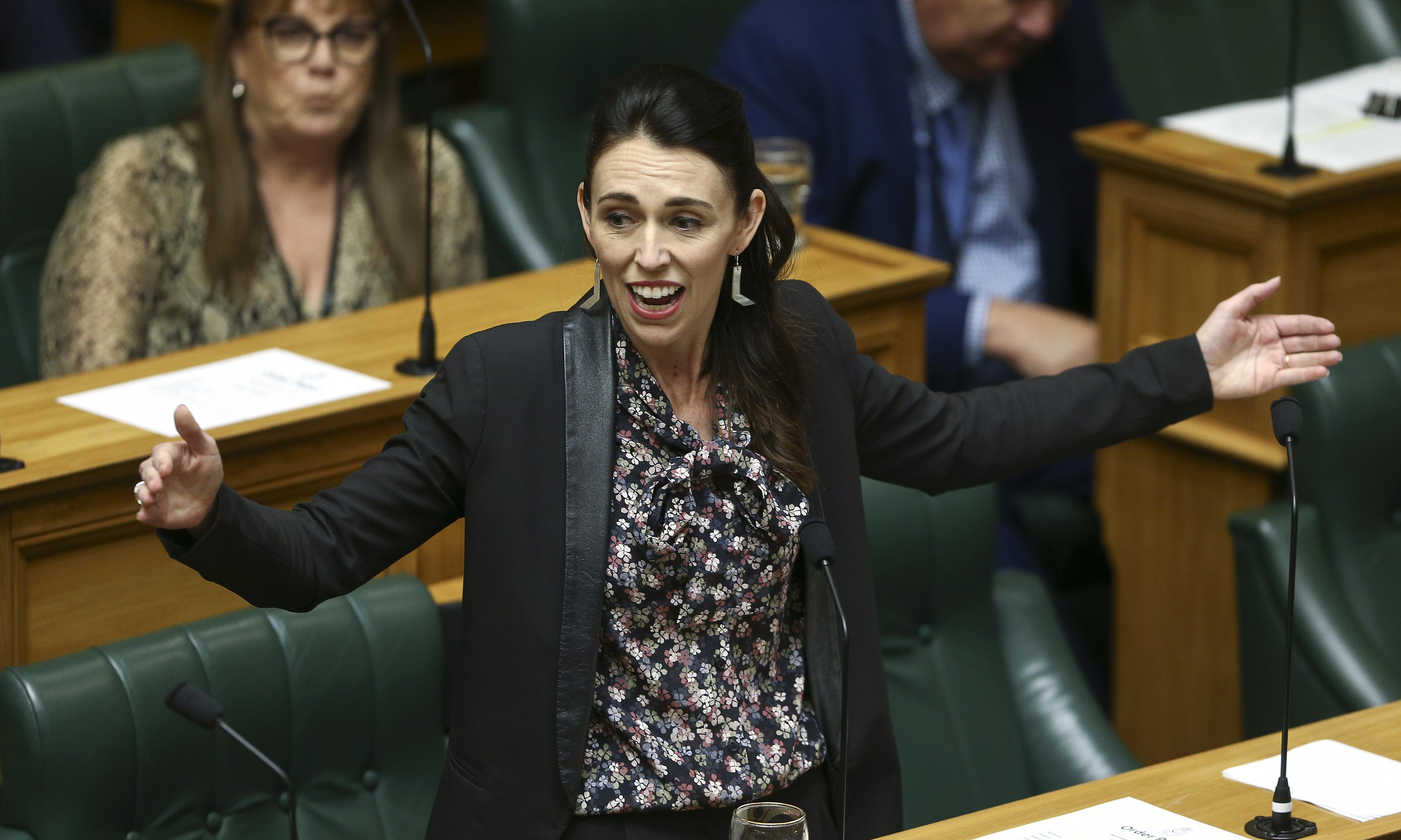 Ardern says New Zealand on 'right side of history' as MPs pass zero-carbon bill