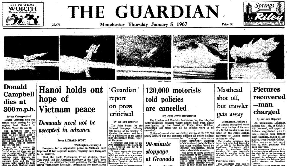 The Guardian, 5 January 1967.