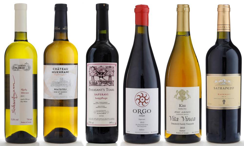 Шесть лучших грузинских вин по версии