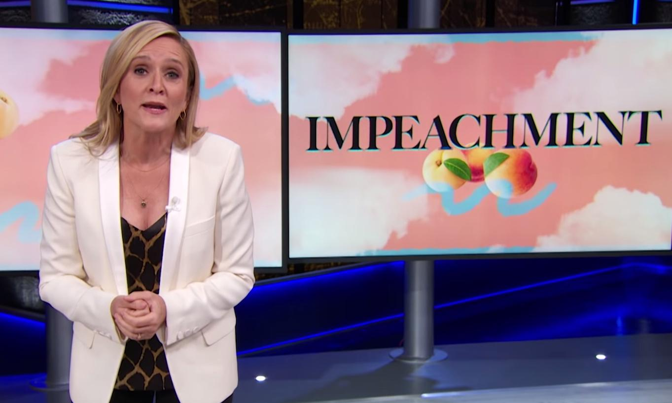 Samantha Bee: American democracy 'exploding like Mentos in a Diet Coke'