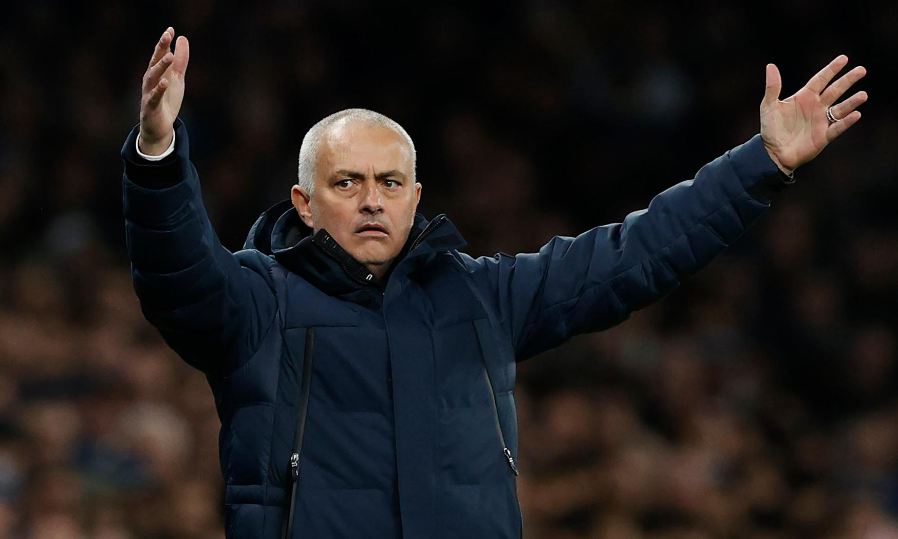 Mourinho: top-four finish with Spurs would be one of my best achievements