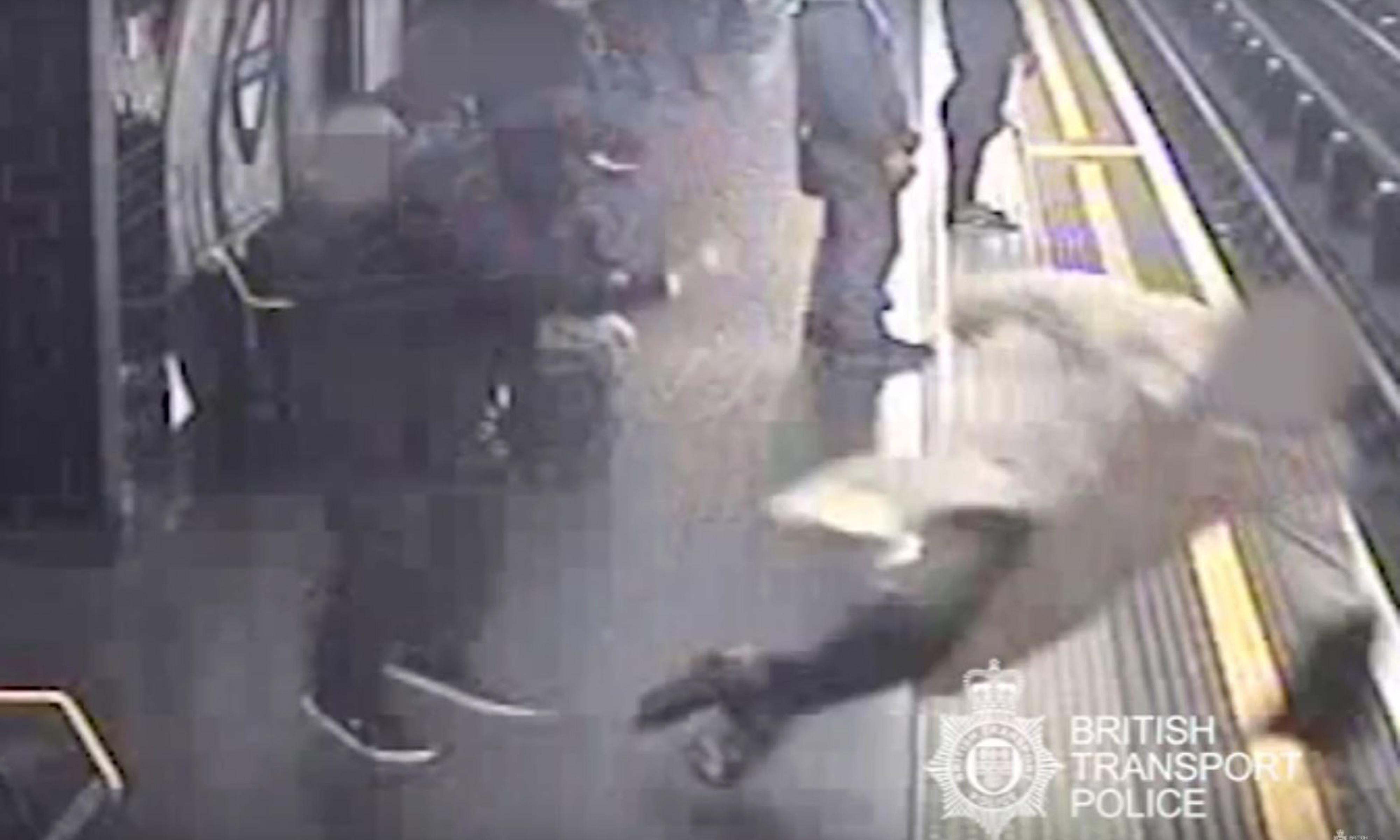 Man jailed for life for pushing 91-year-old on to tube tracks