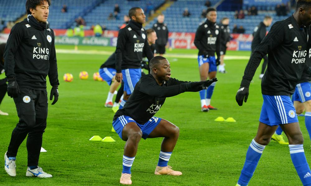 Nampalys Mendy of Leicester City