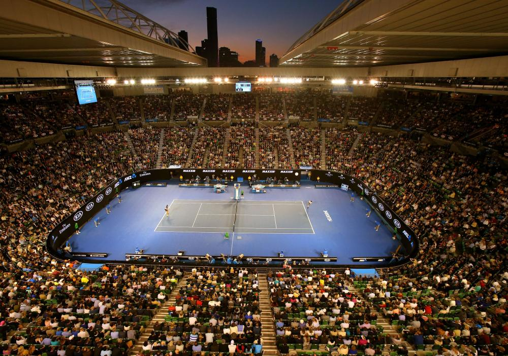 Rod Laver Arena in Melbourne.