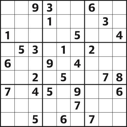 Sudoku 4,431 medium
