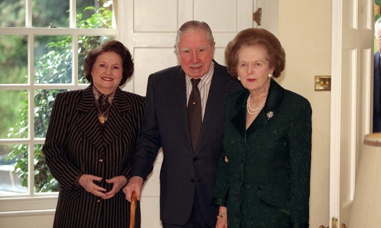 Thatcher sent Pinochet finest scotch during former dictator's UK house arrest