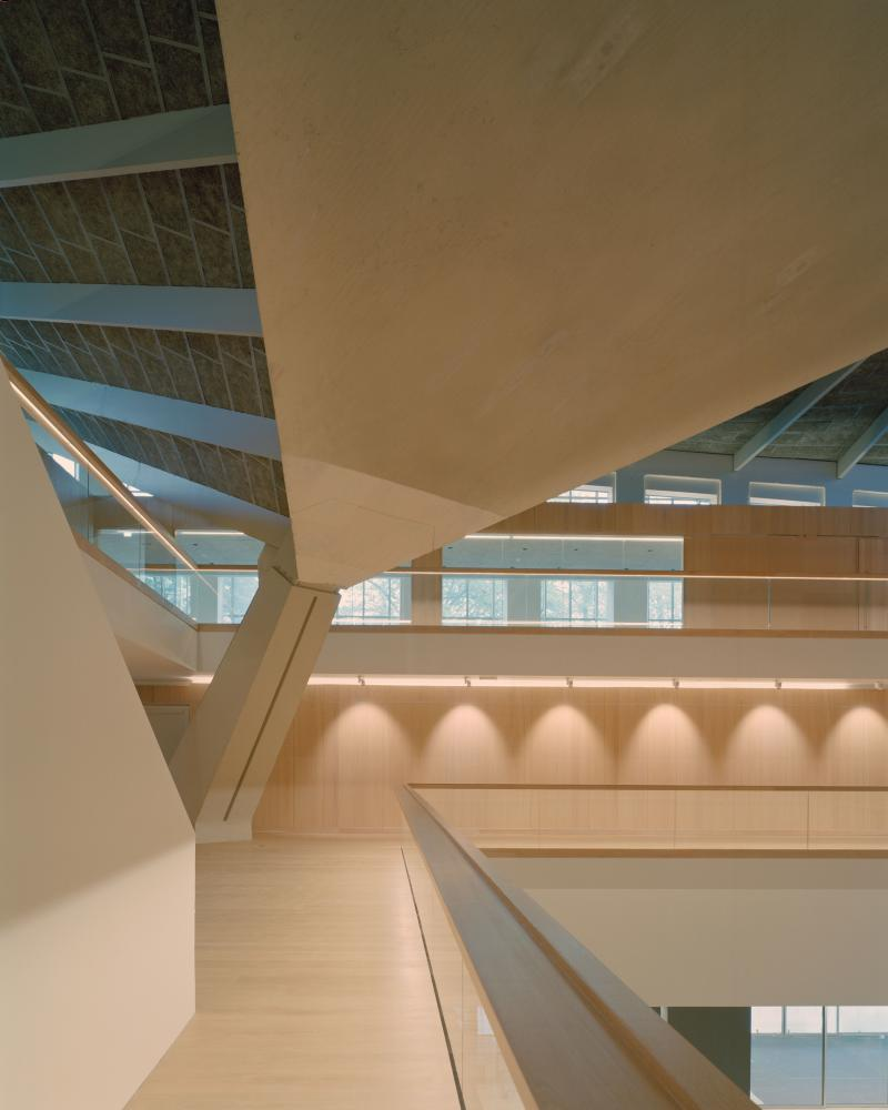 'A canny Faustian pact' ... the new Design Museum interior.