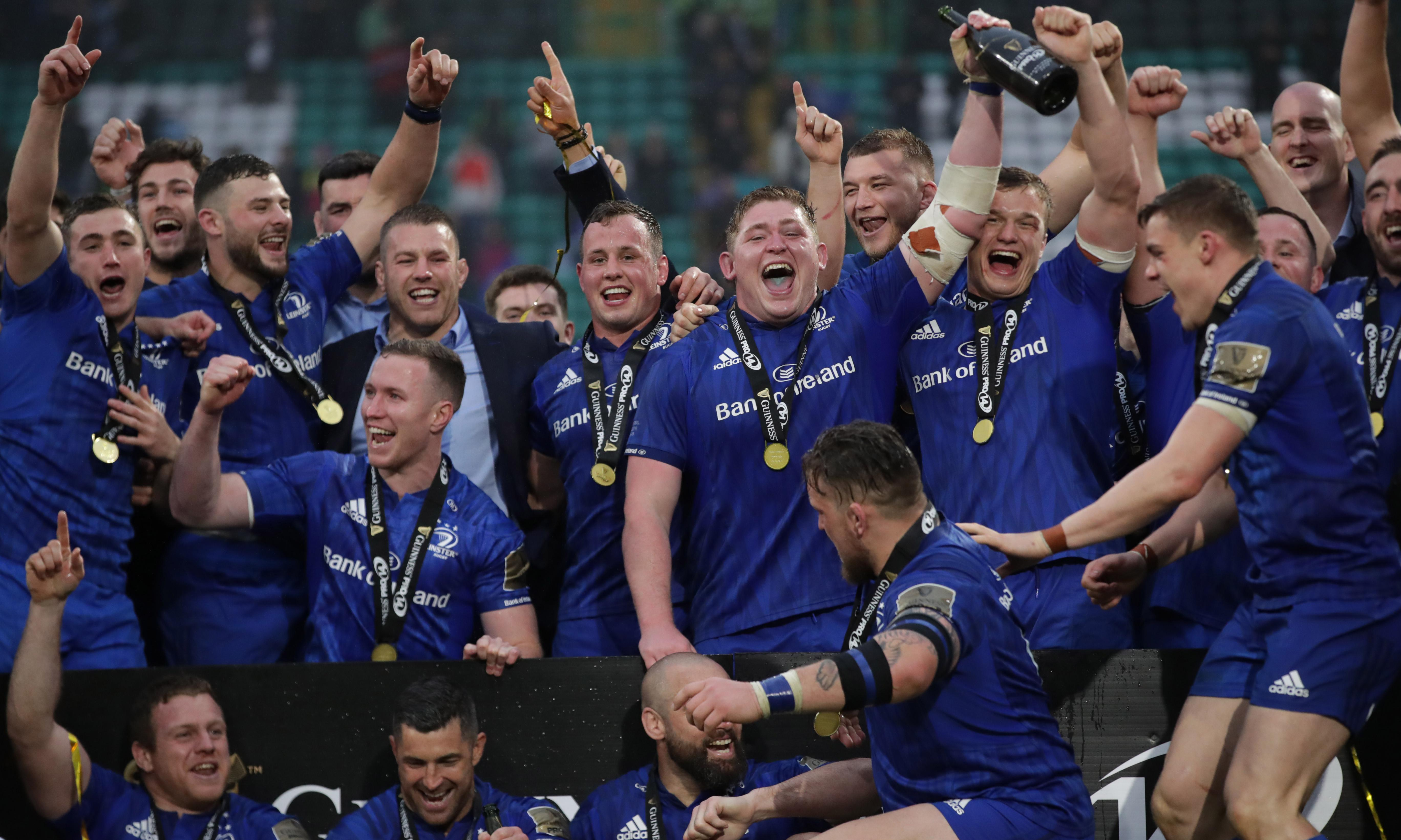 Leinster ruin Stuart Hogg's farewell to claim Pro14 title against Glasgow
