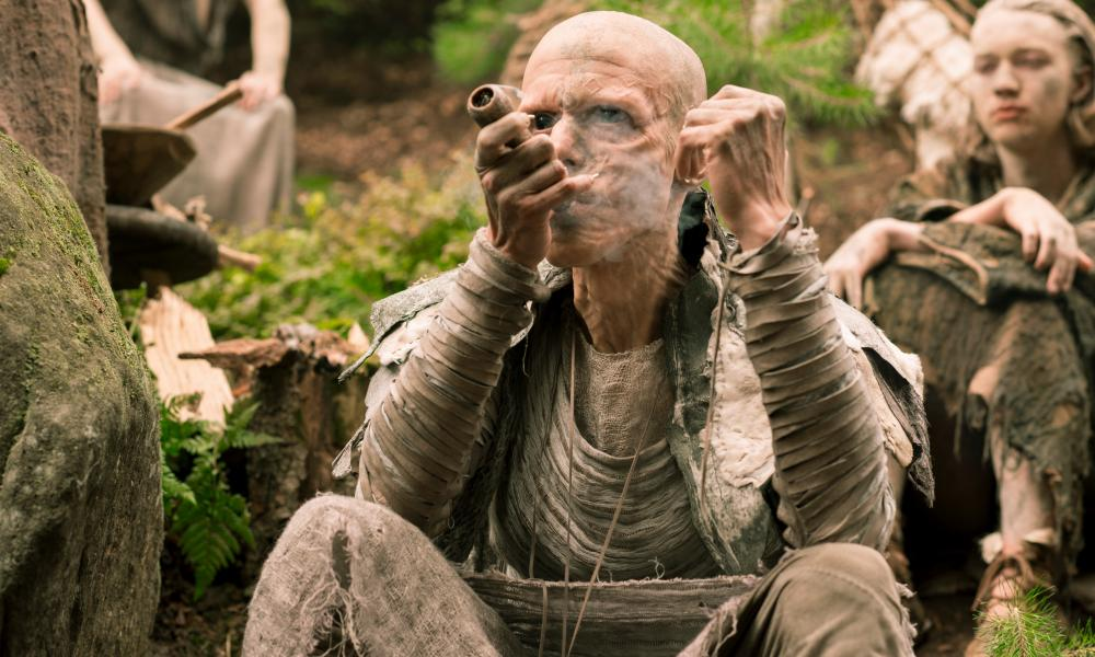 Mackenzie Crook as Veran in Britannia