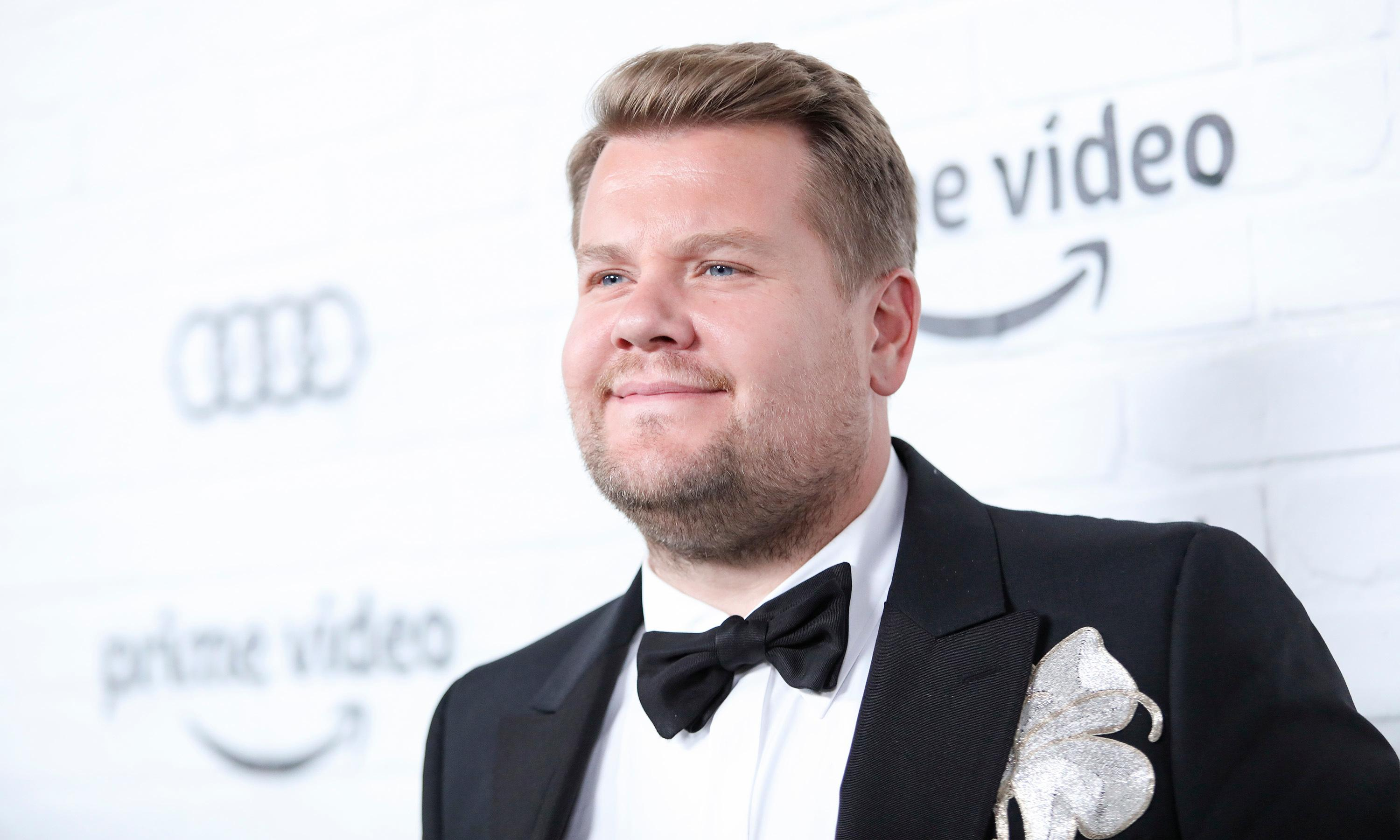 'We're horrified': James Corden tackles US gun control on late-night talkshow