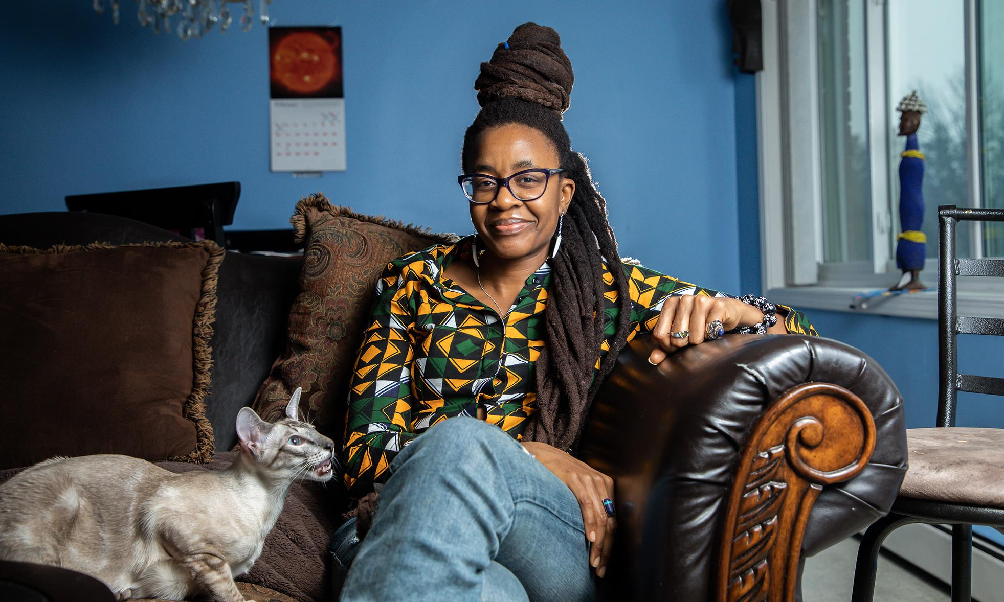 Nnedi Okorafor: 'The Hitchhiker's Guide made me laugh myself to tears'