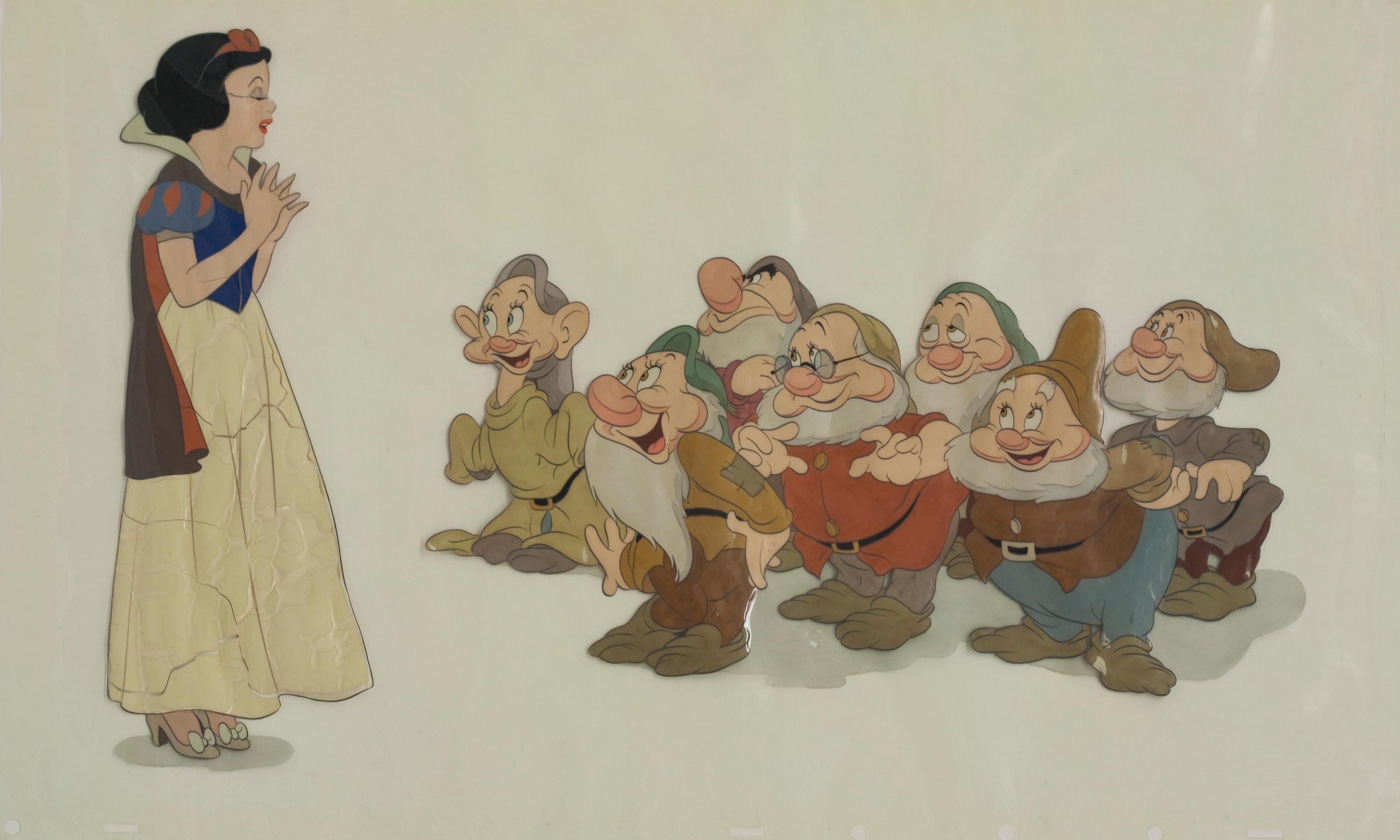 Conservators race against time to save film cels of classic Disney characters