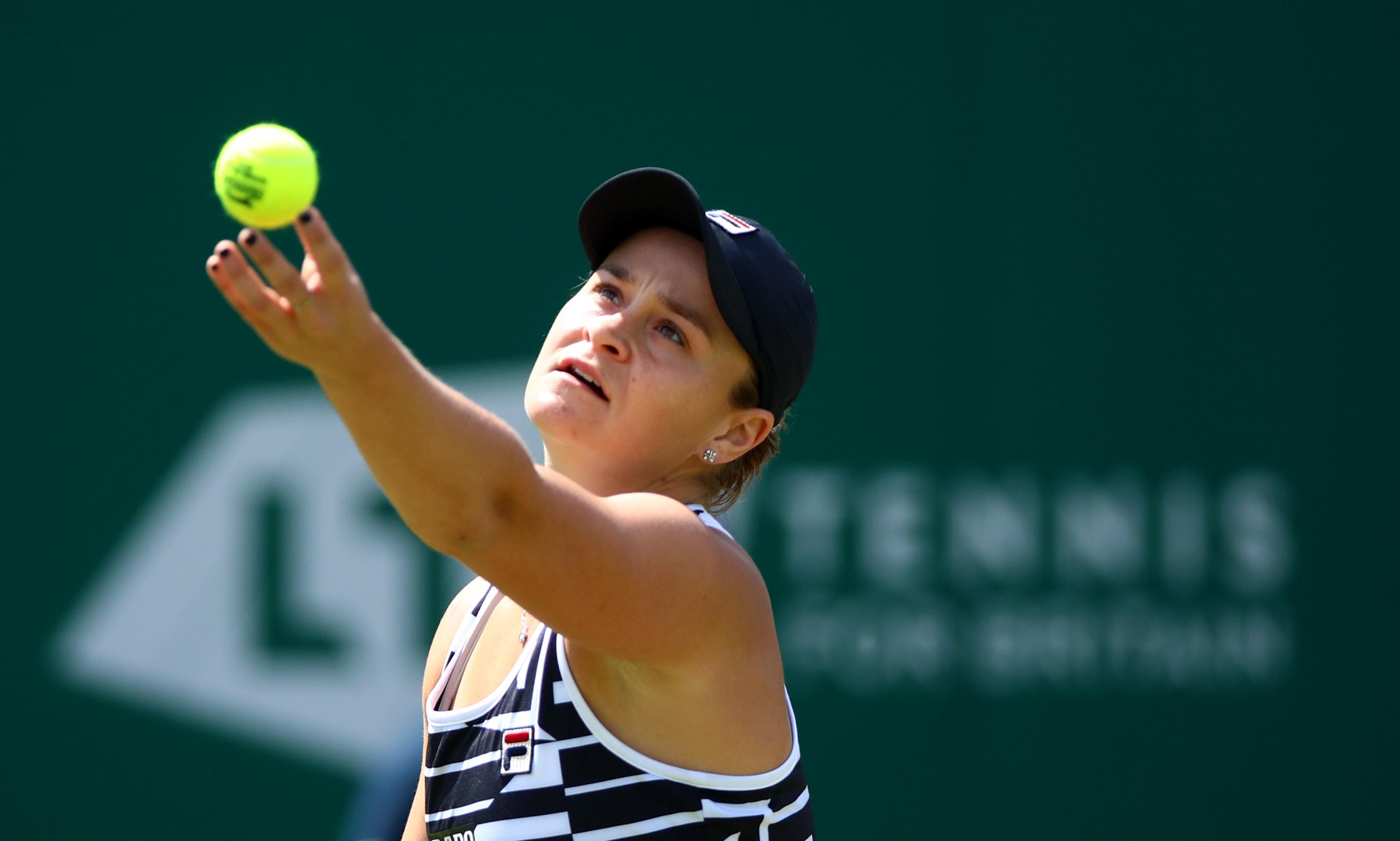 Ashleigh Barty moves to within one win of world No 1 ranking