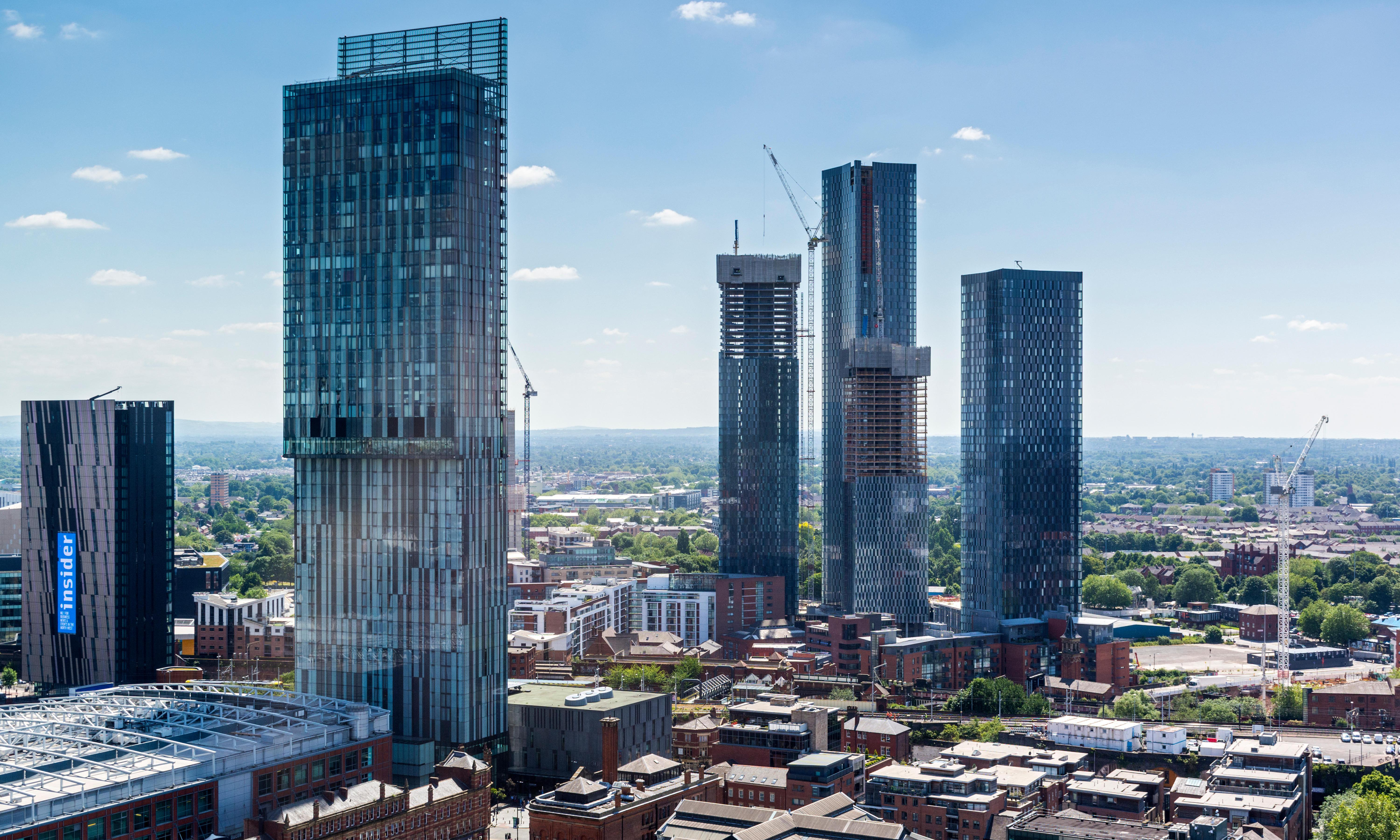 Welcome to Manc-hattan: how the city sold its soul for luxury skyscrapers