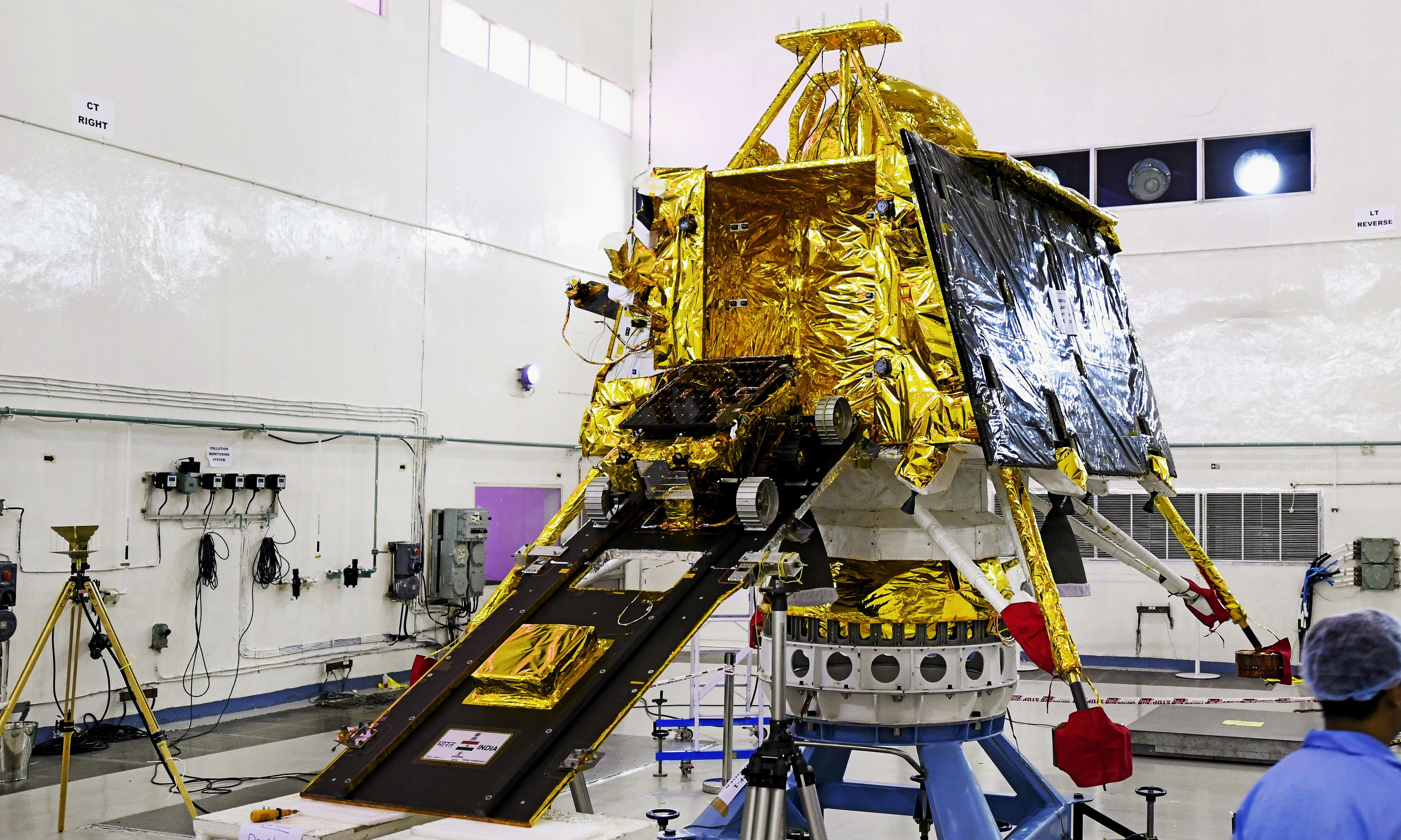 India's Chandrayaan-2 moon mission called off minutes before launch