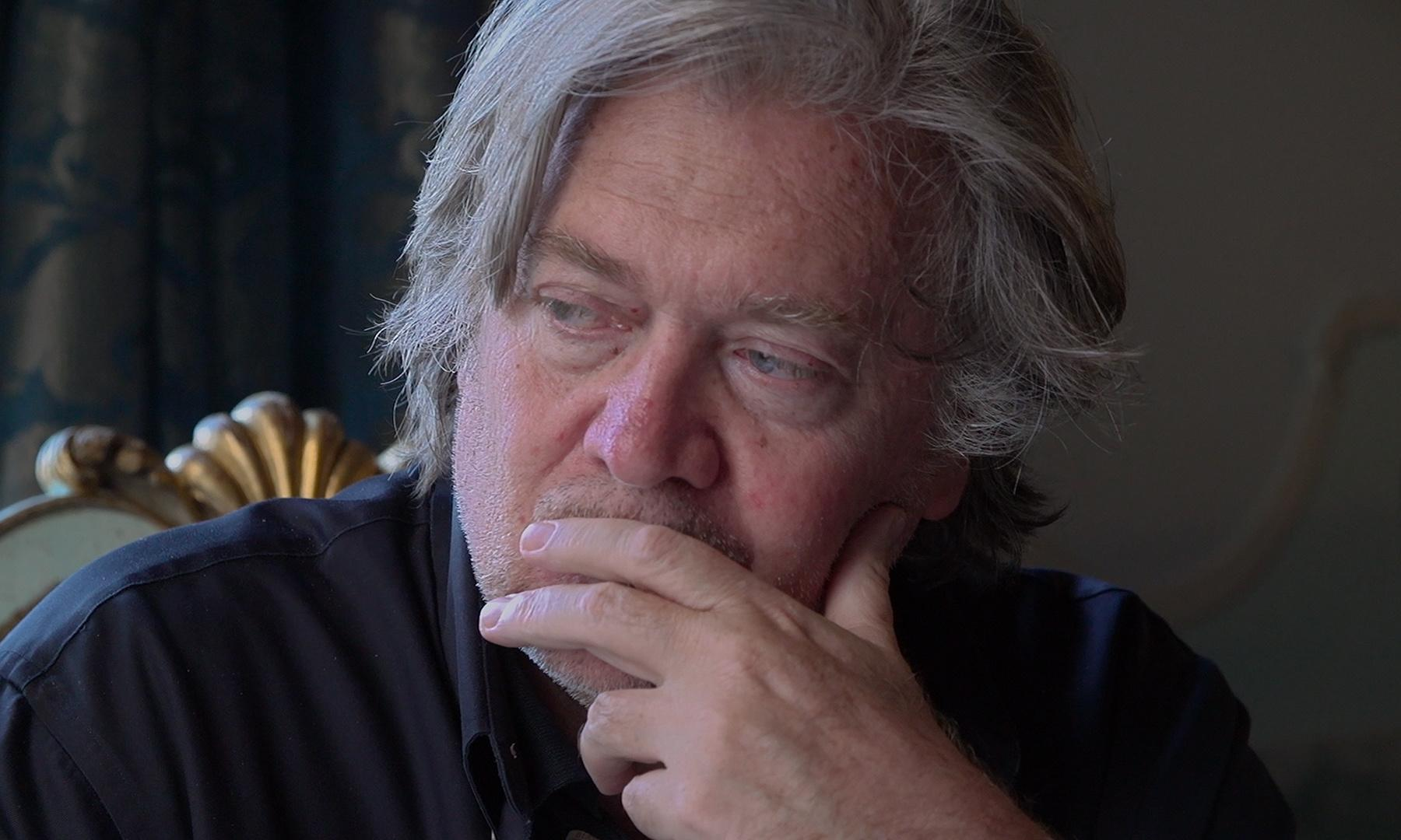 The Brink review – self-love and satire on the Steve Bannon world tour