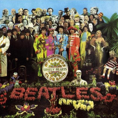Sgt Pepper's Lonely Hearts Club Band cover by Peter Blake.