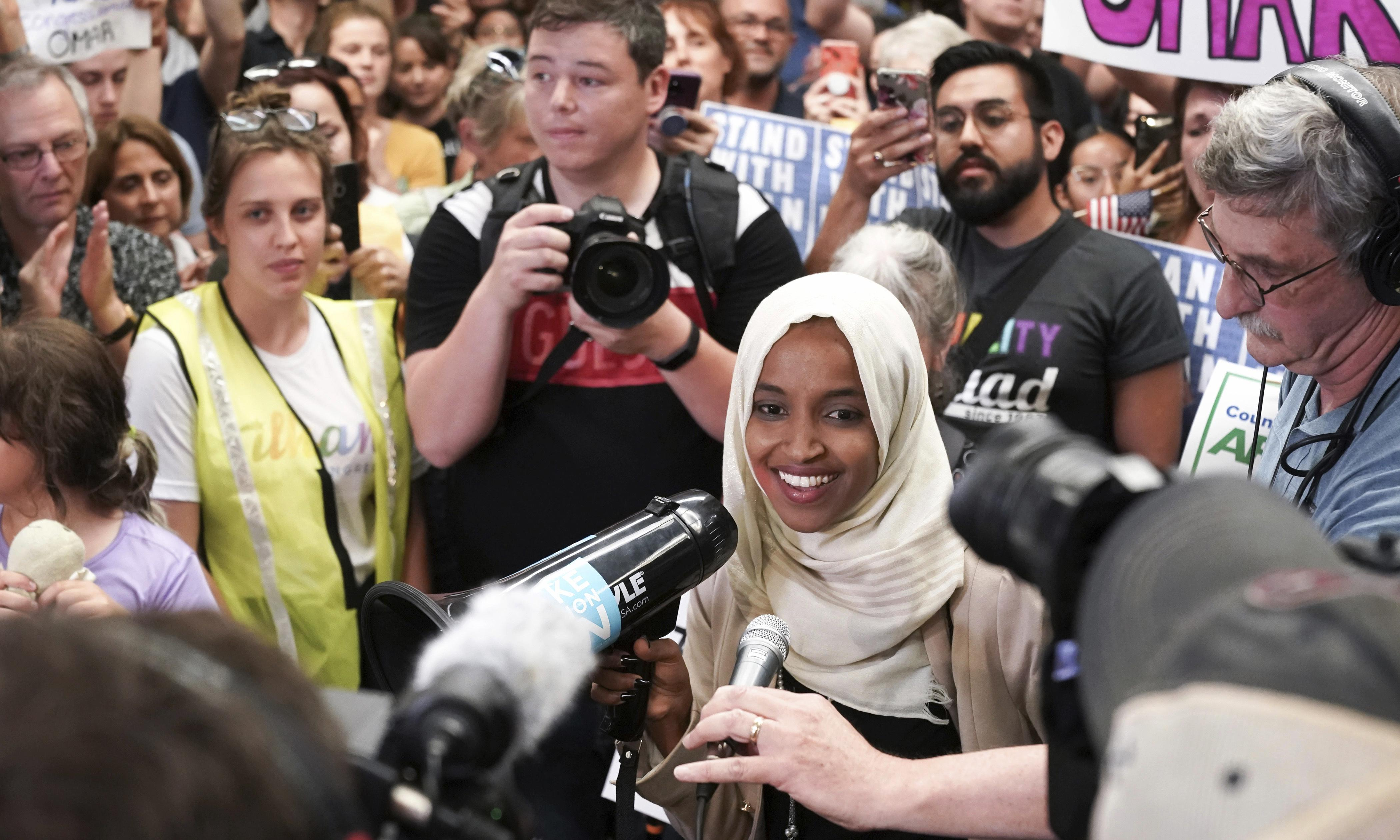'Welcome home!' Ilhan Omar returns to Minnesota amid Trump smears