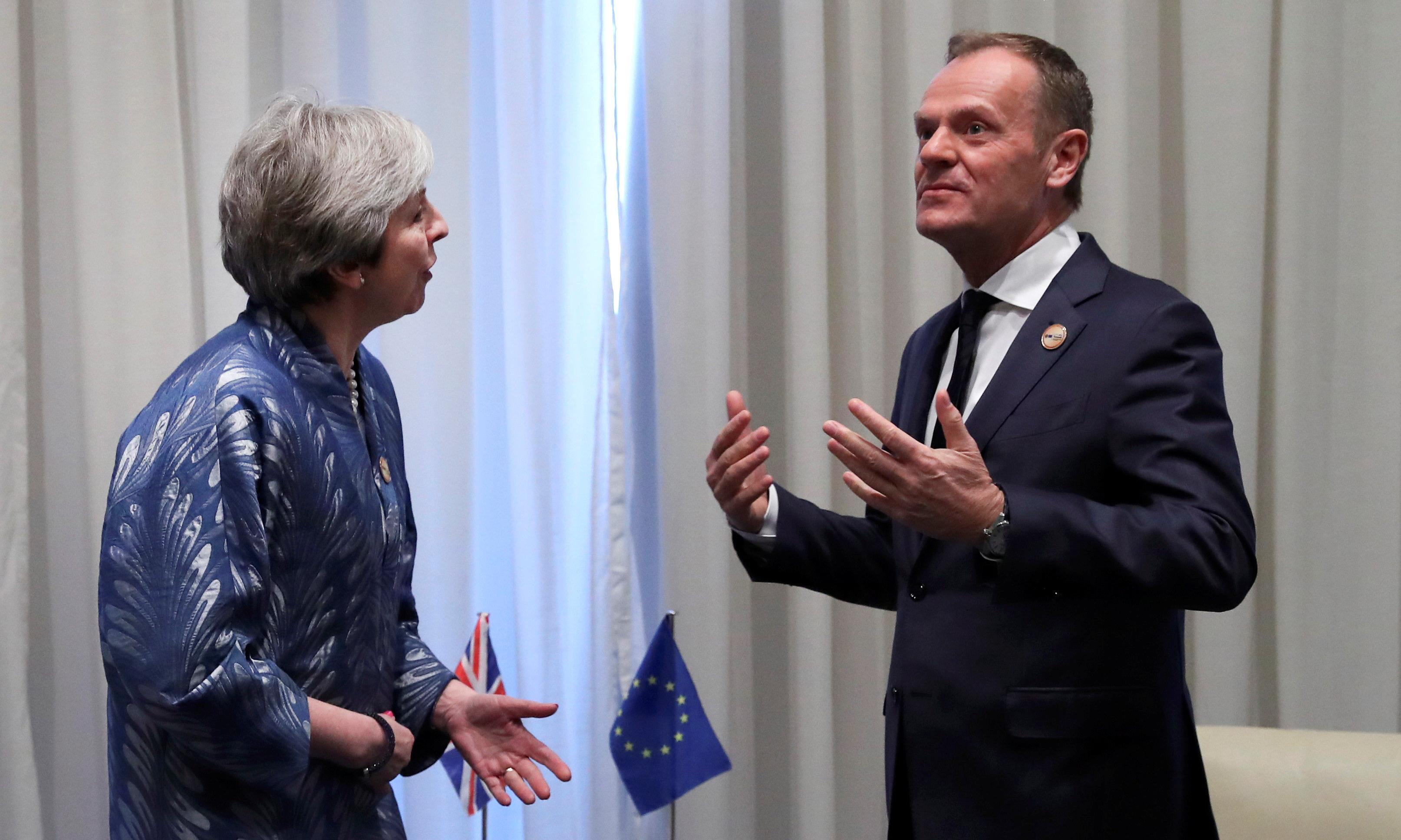 May to ask EU for Brexit extension as UK slides into political 'crisis'