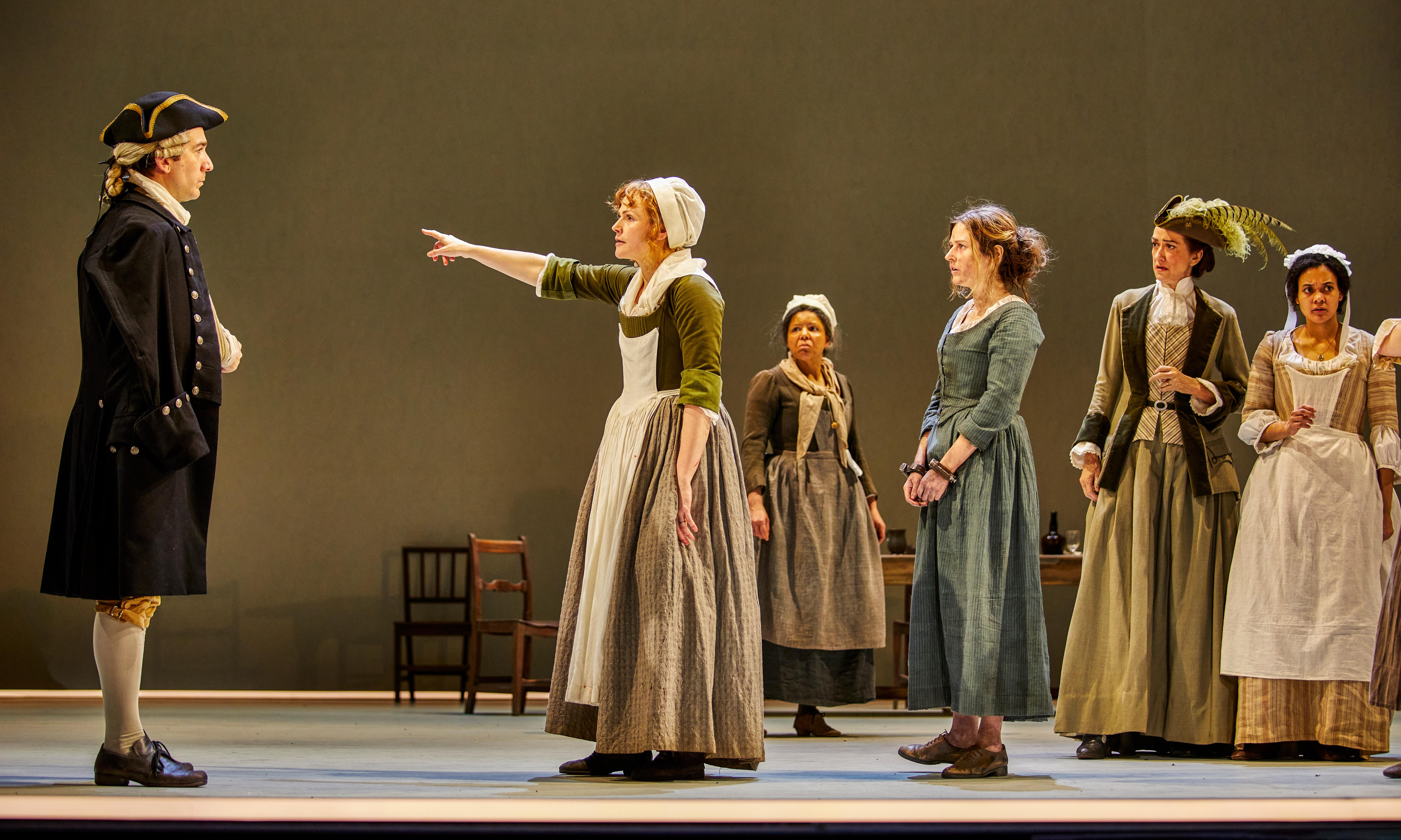 The Welkin review – Maxine Peake leads Lucy Kirkwood's jury of matrons