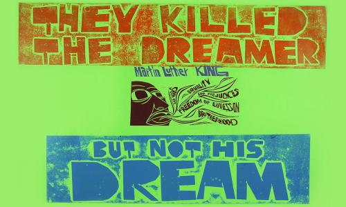 They killed the dreamer but not his dream (1979) by Peter Paul Piech