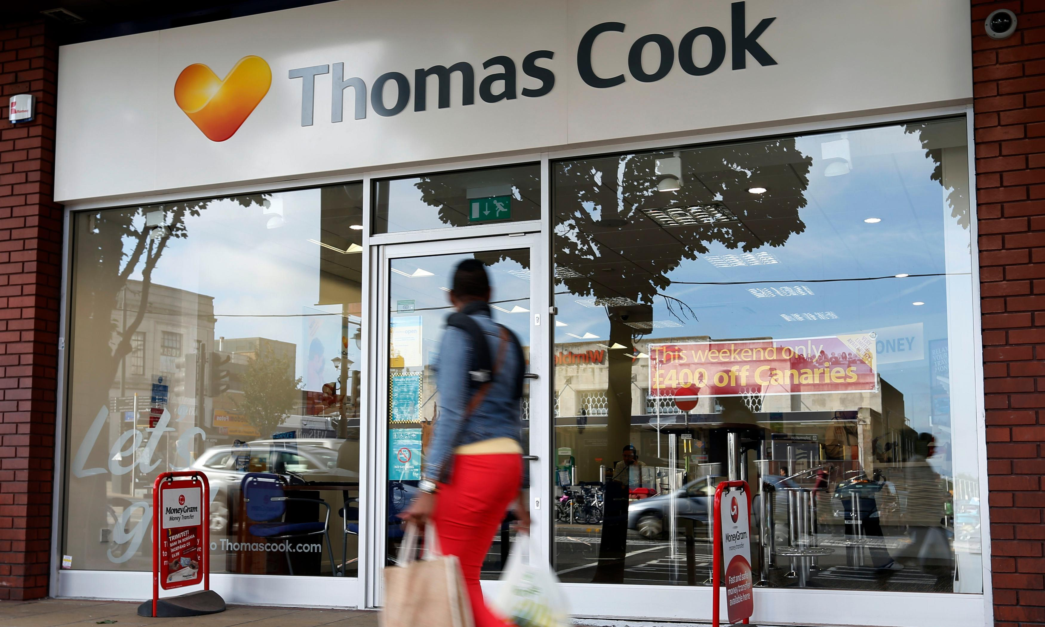 Potential bidders circle Thomas Cook as it hires turnaround specialist