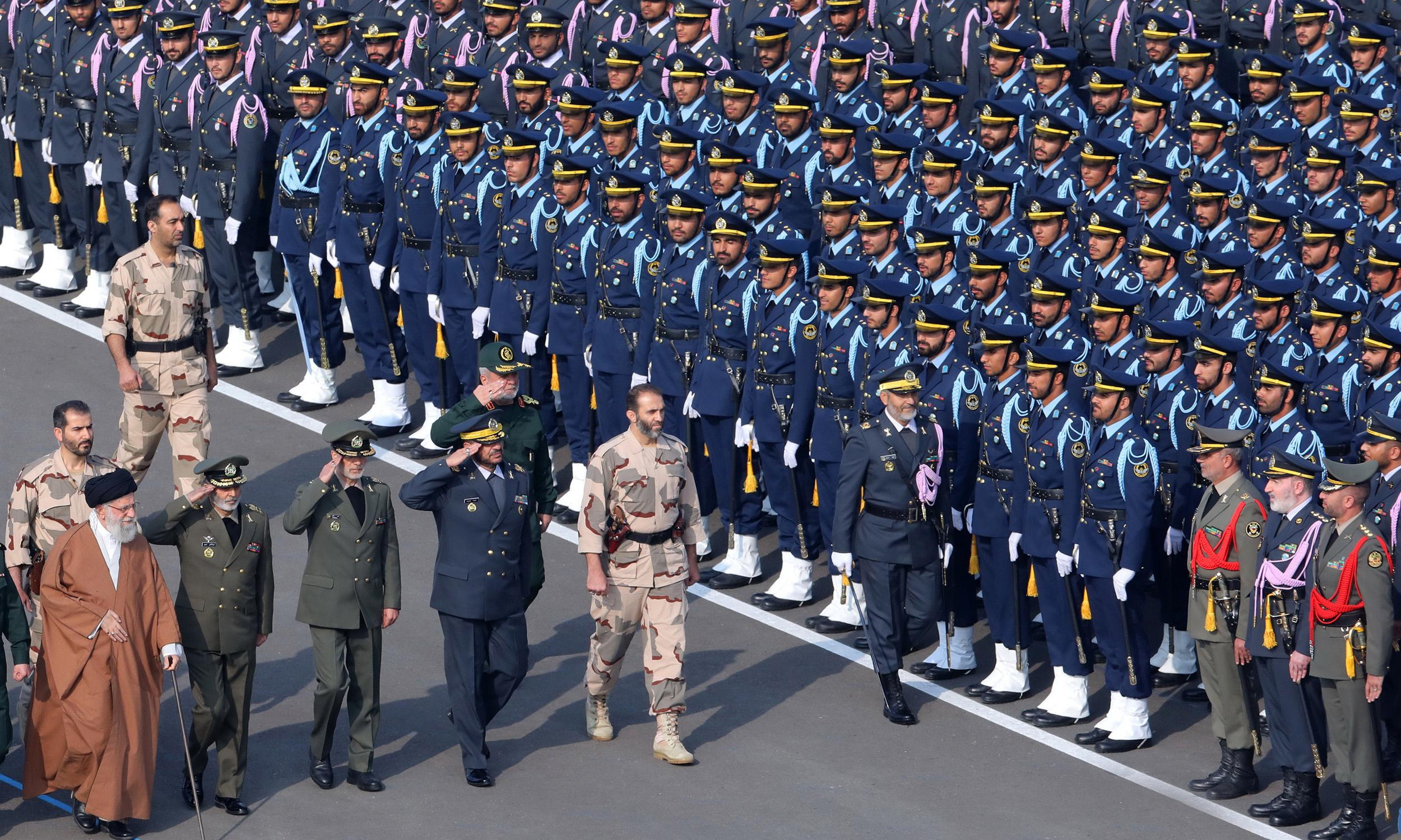 How strong is Iran's military?