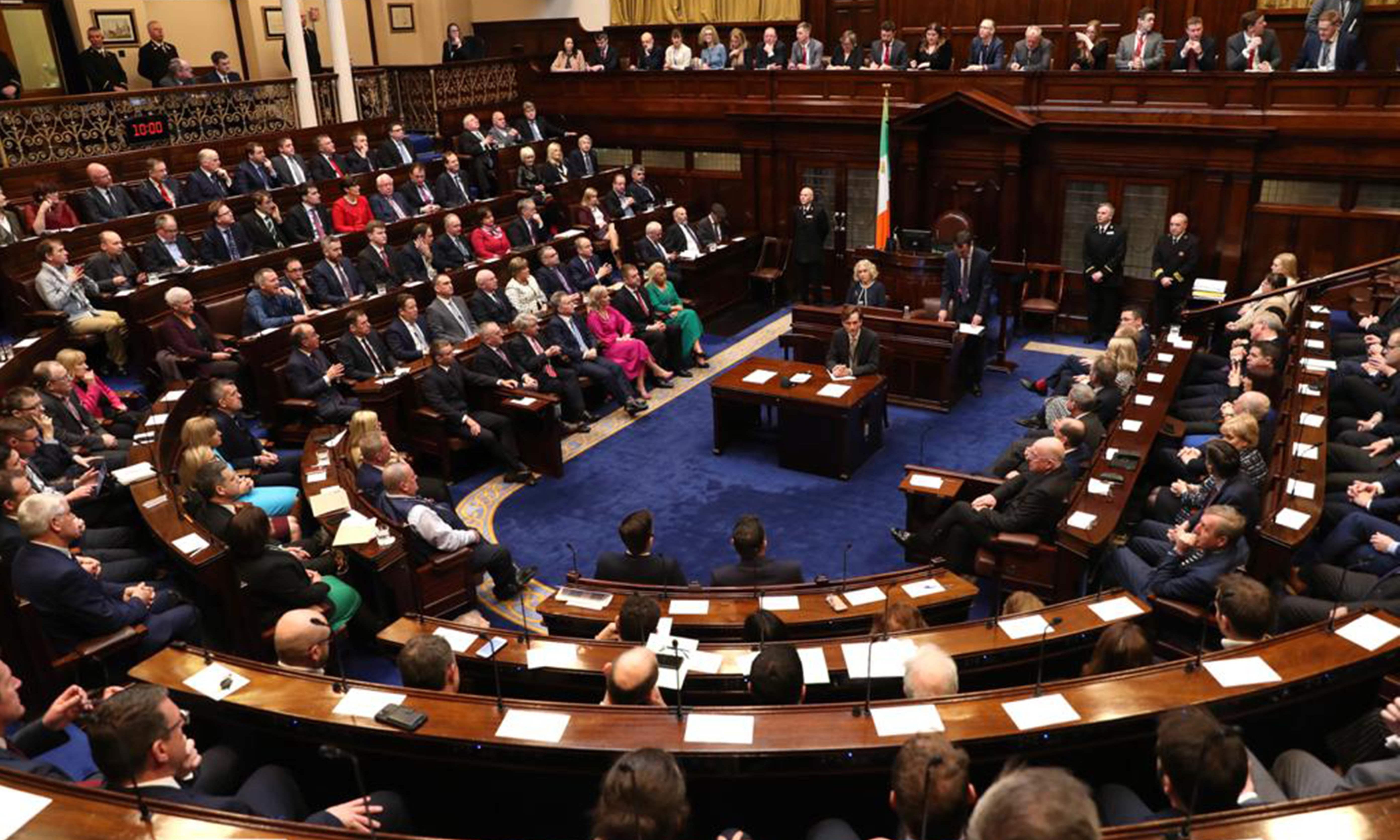 Varadkar resigns as Irish government enters stalemate