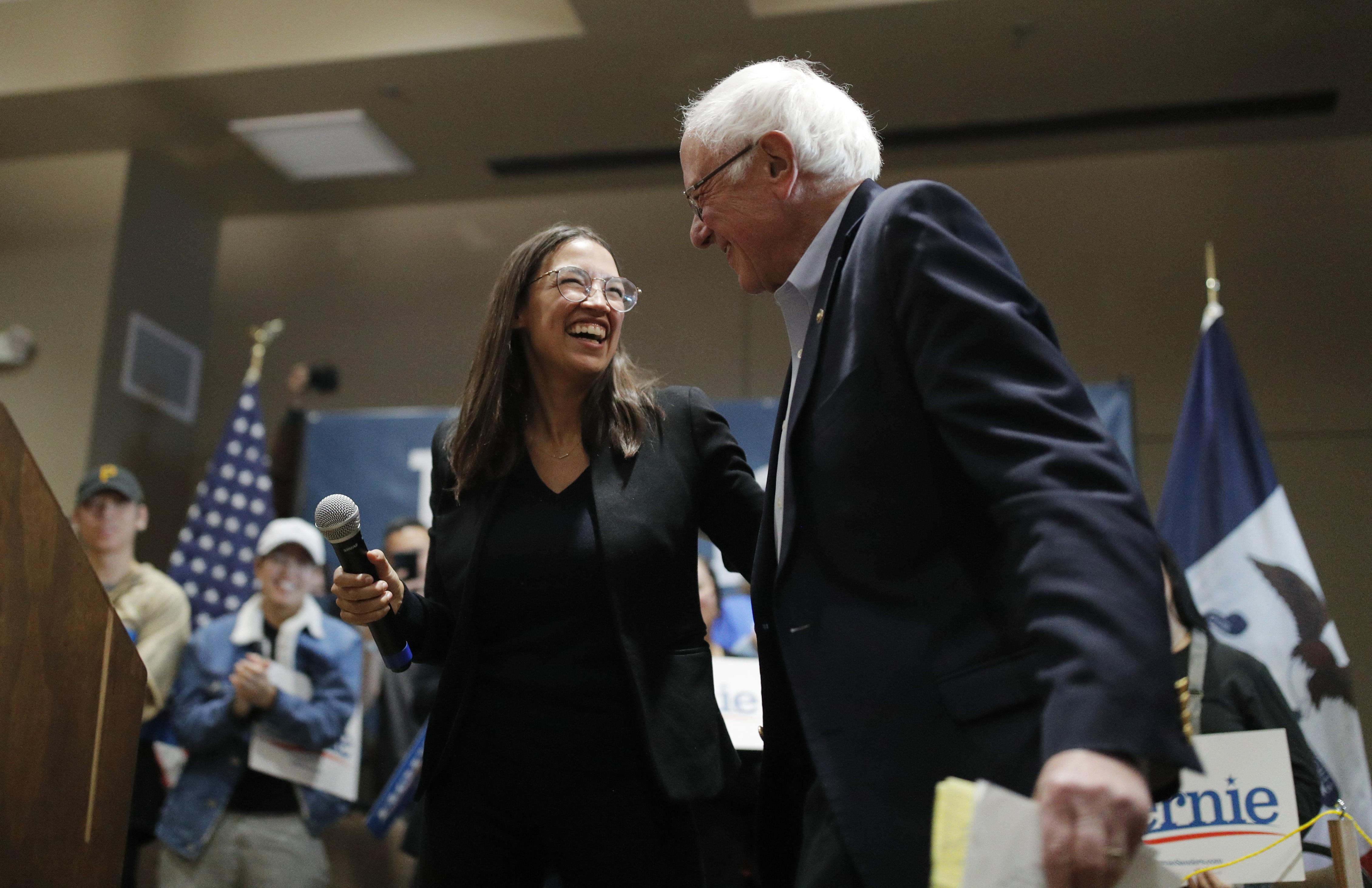 I thought Bernie's Iowa numbers seemed unrealistically high. Then I saw his rallies