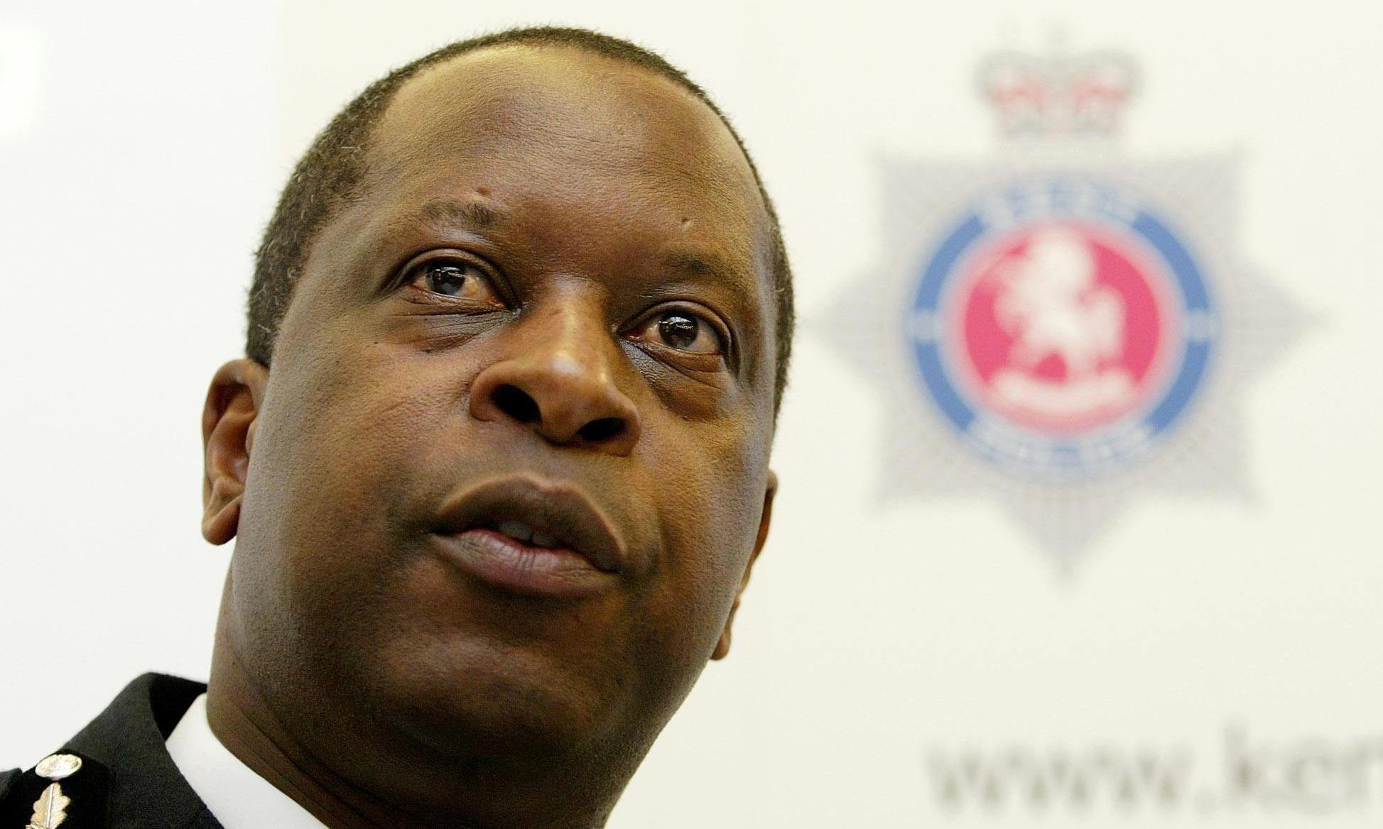 UK's first black police chief asks why he remains the only one