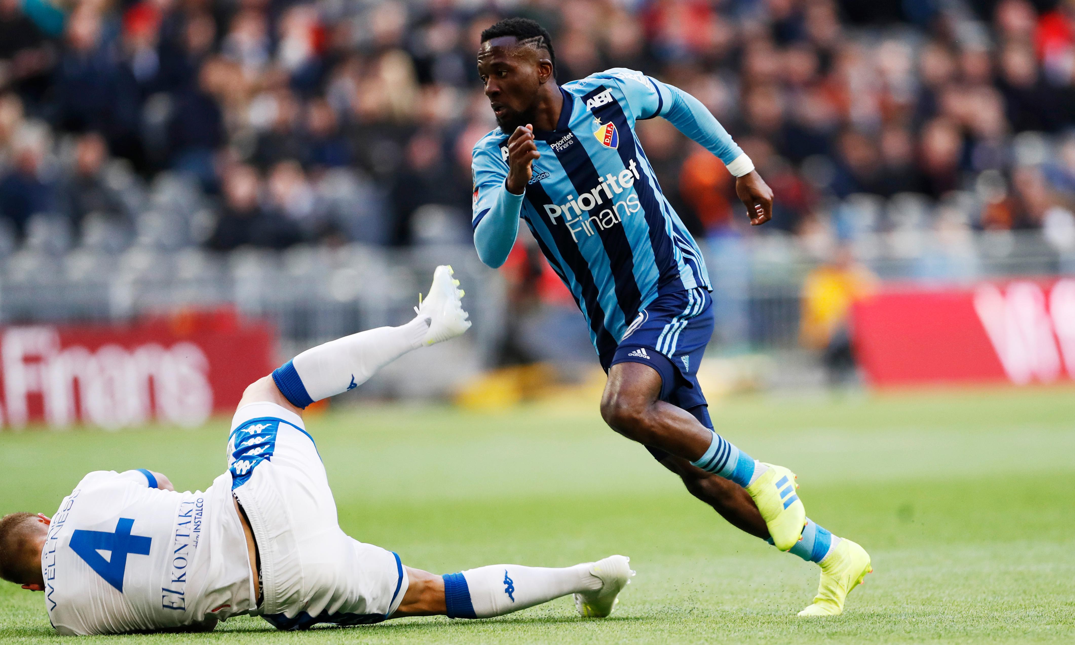 Sierra Leone striker Mohamed Buya Turay blames injury on 'juju'