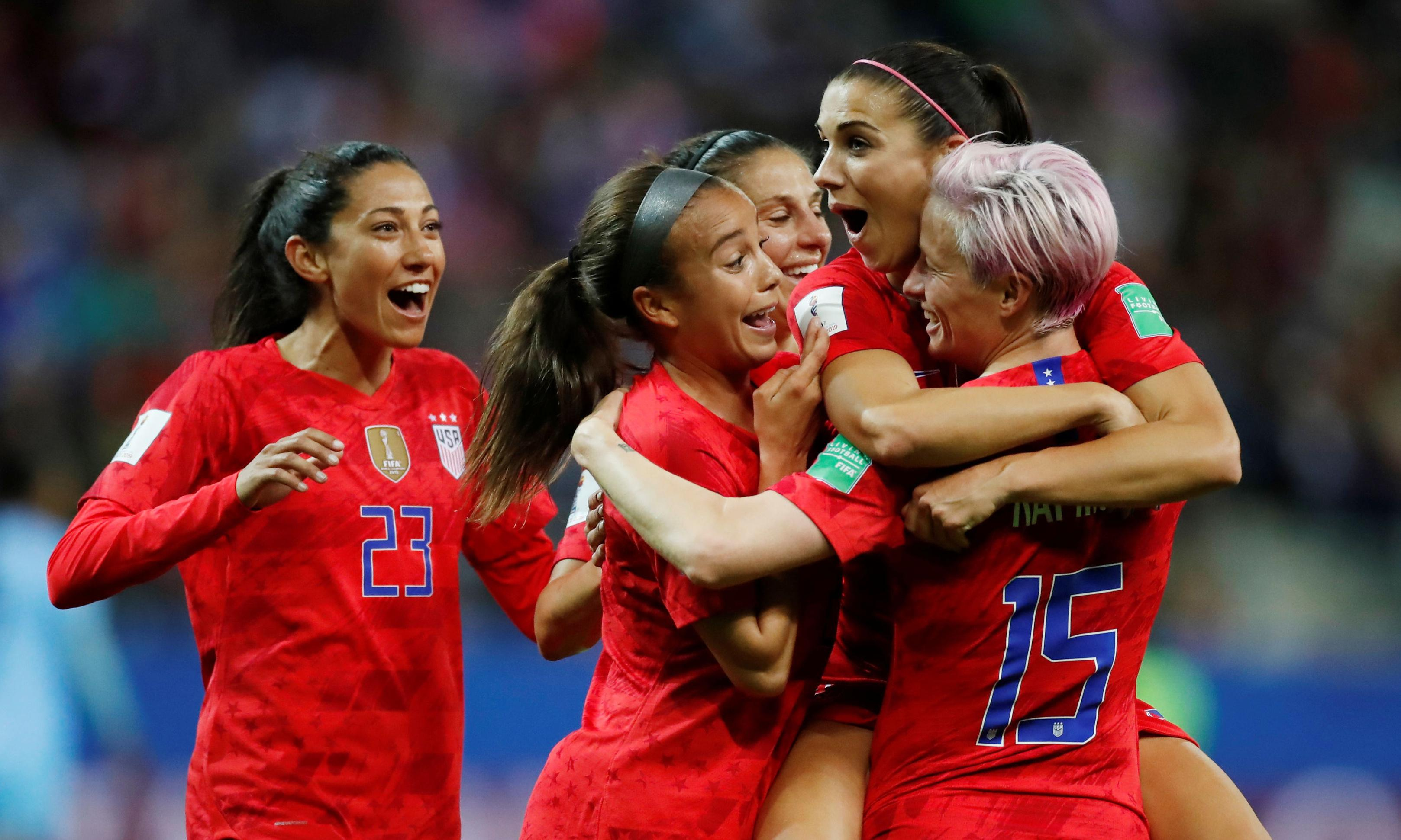Ruthless USA break World Cup record as they hit 13 past hapless Thailand