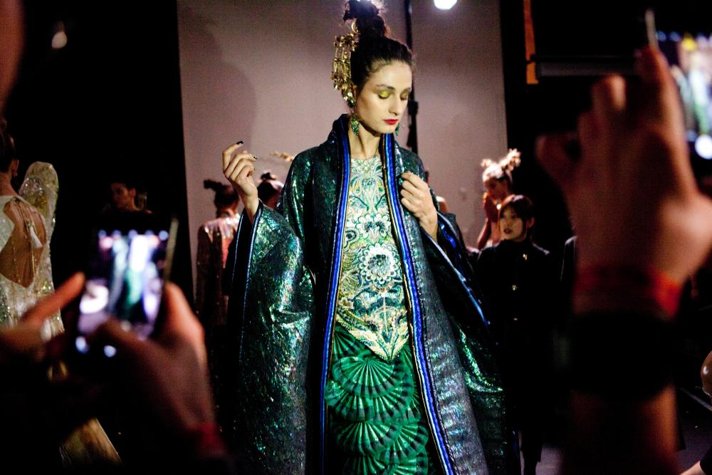 Guo Pei mined her Chinese heritage for the show