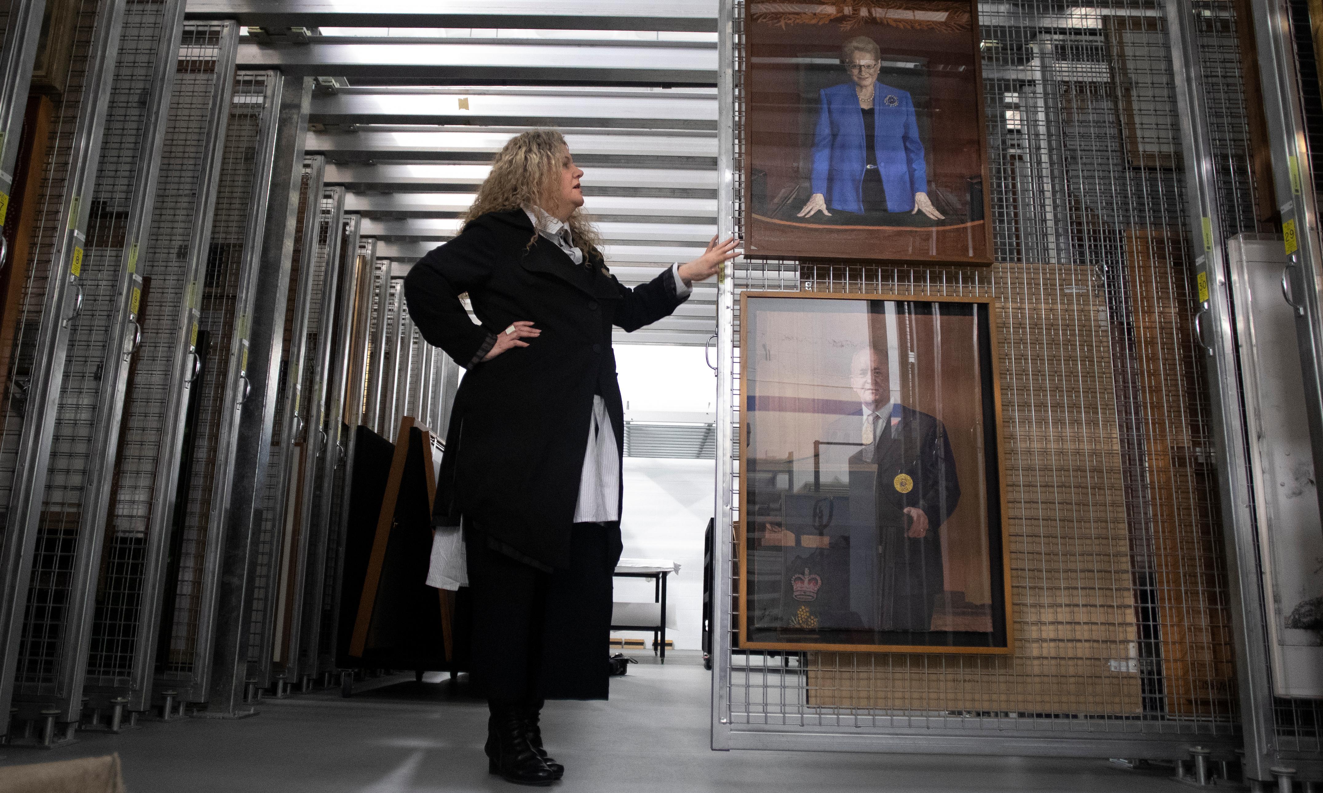 'It's a huge job': a peek inside Parliament House's private, prized art stash