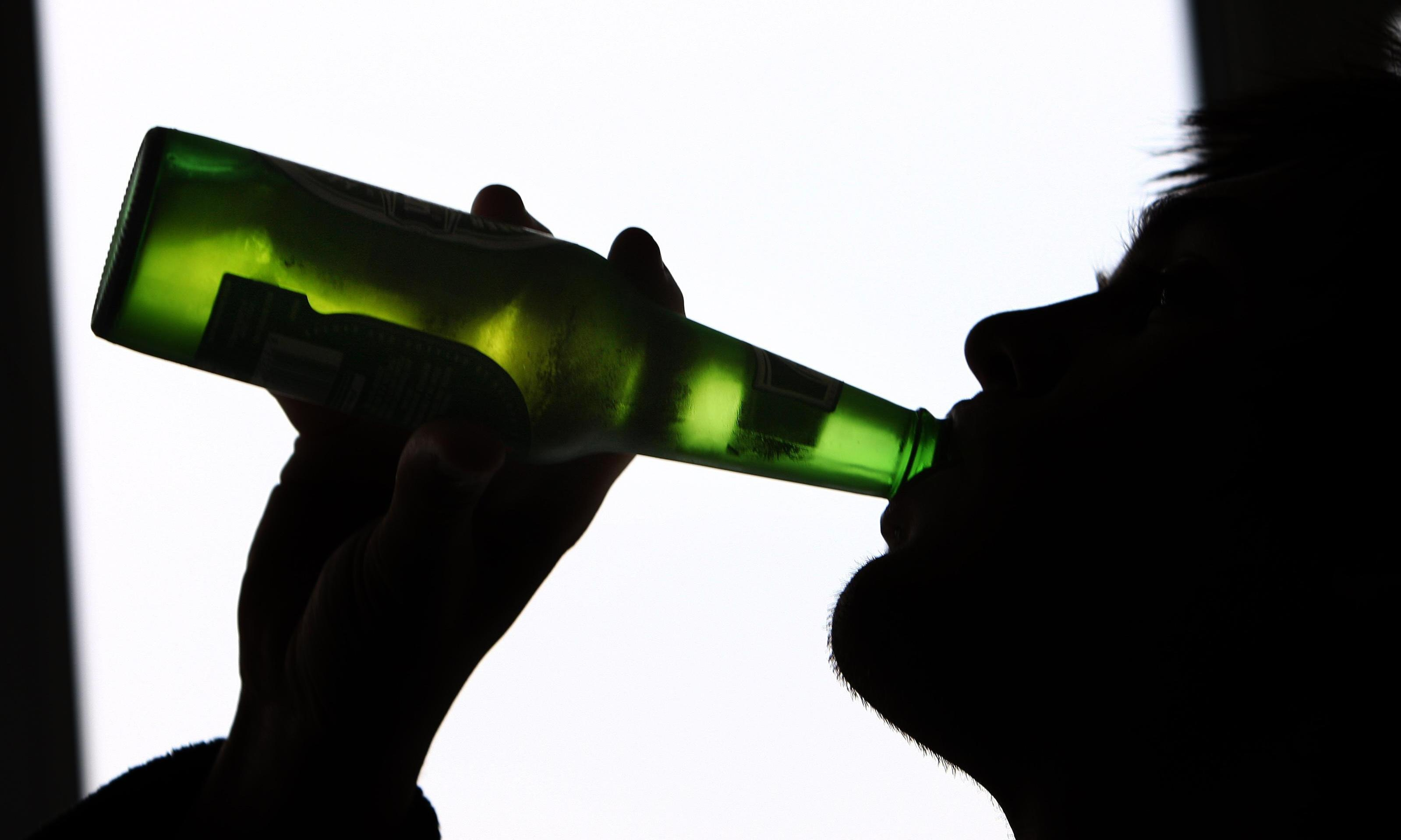 I don't want to tell alcoholic patients to keep drinking, but I have to