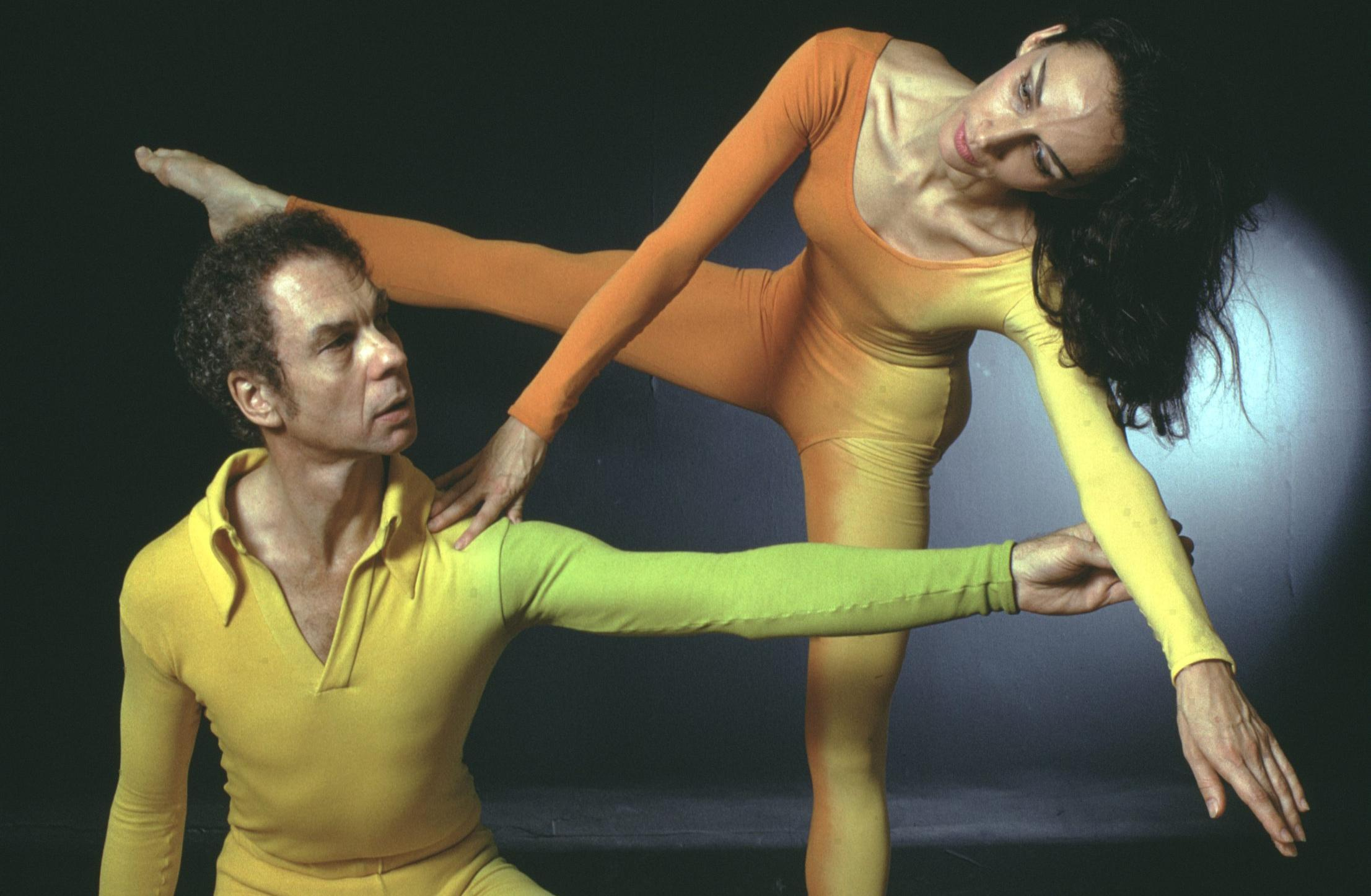 'He said two things to me in five years. And one was thanks for the cheese' - Merce Cunningham