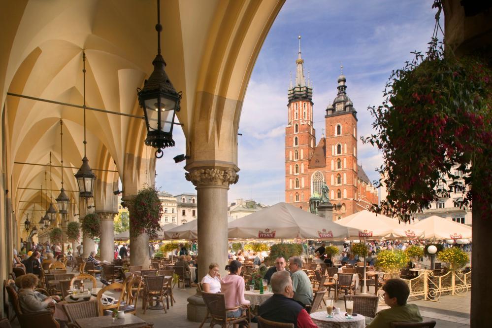 St Mary's Church in Krakow.