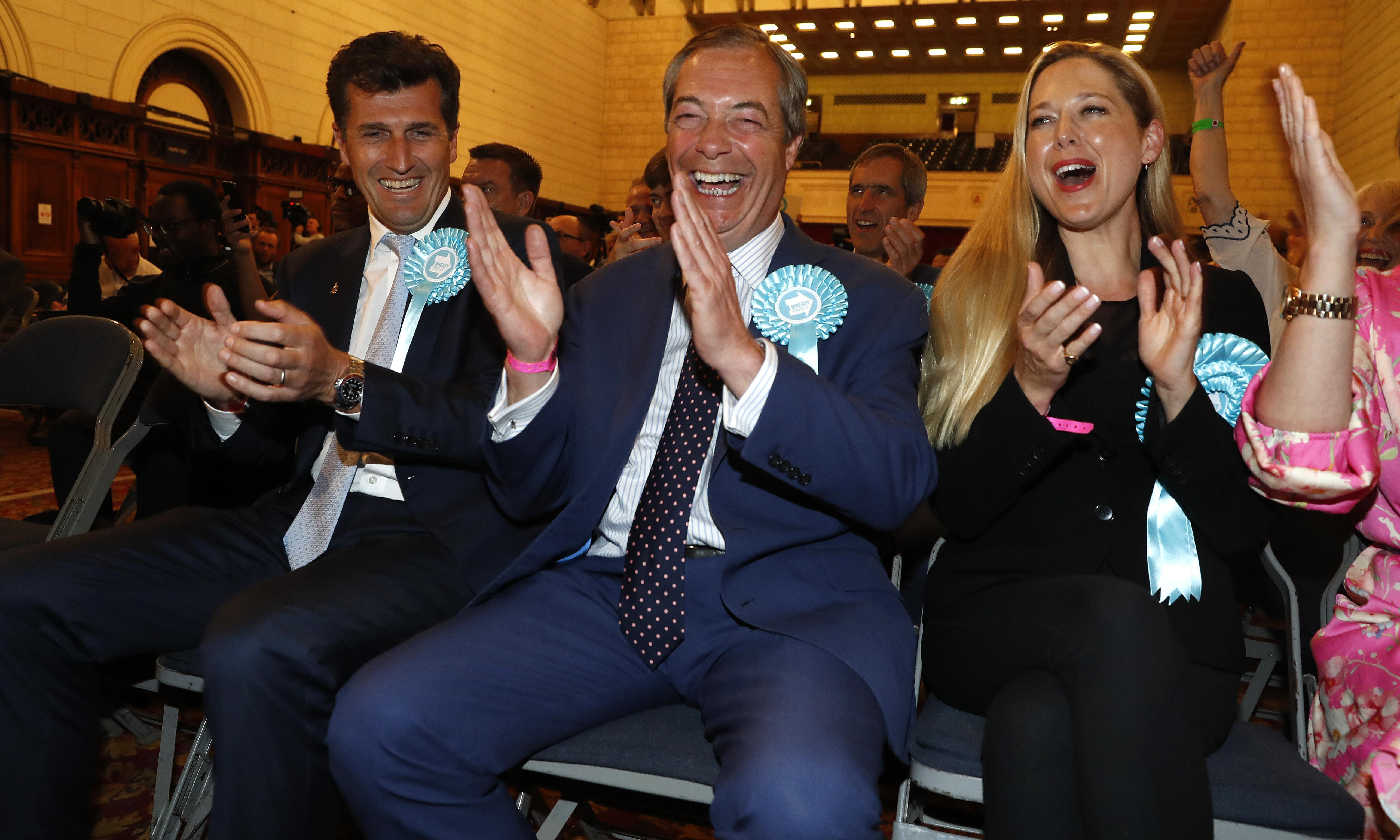 EU elections: Tories and Labour savaged as voters take Brexit revenge